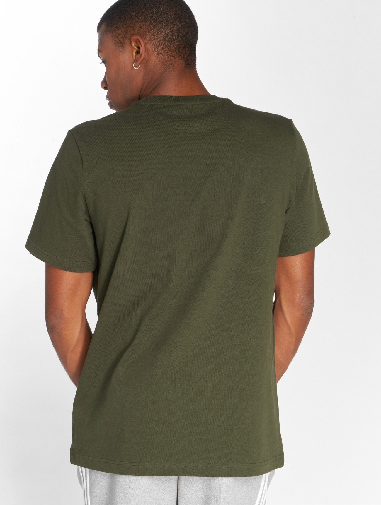 adidas Originals | Outline Tee  olive Homme T-Shirt  500075| Homme Hauts