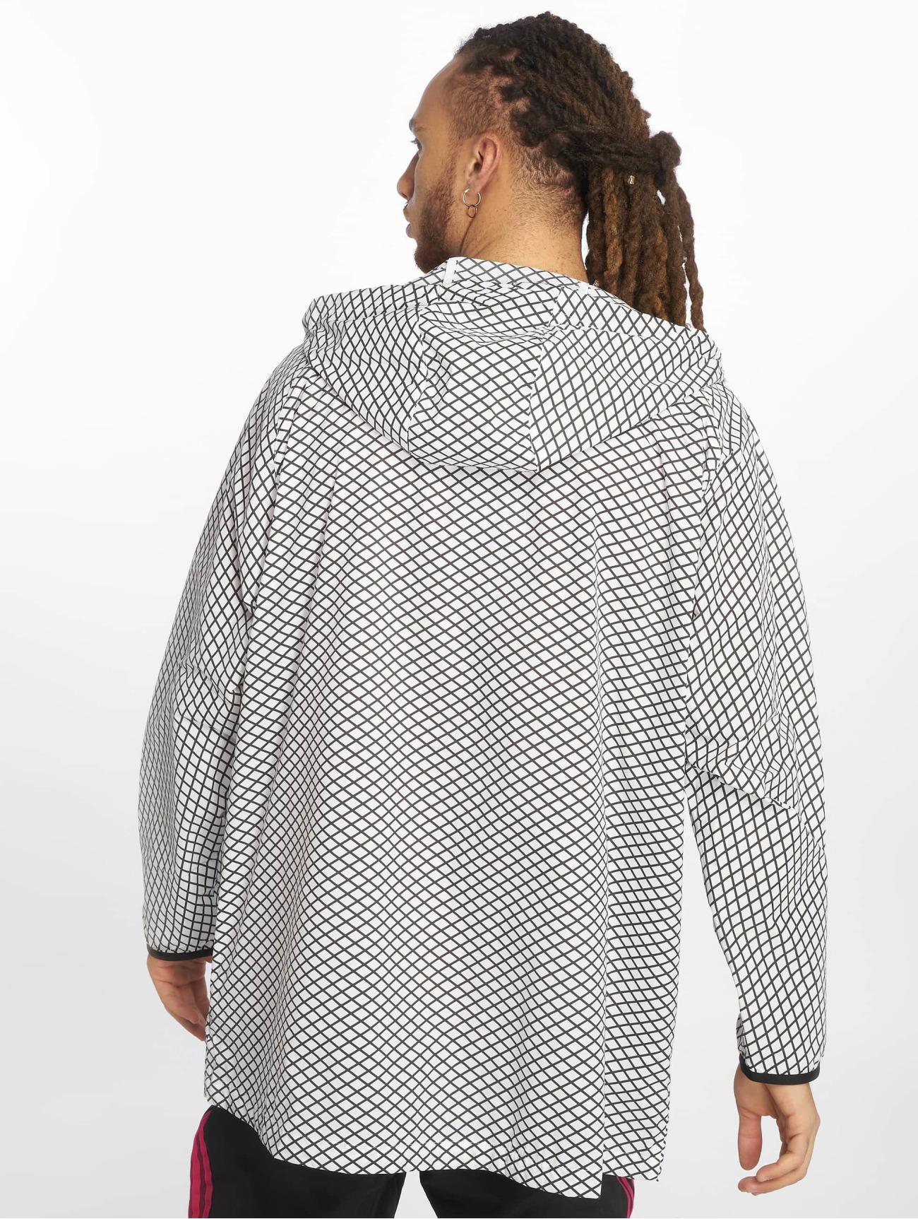 adidas Originals | PLGN Grid  blanc Homme Veste mi-saison légère  401518| Homme Manteaux & Vestes