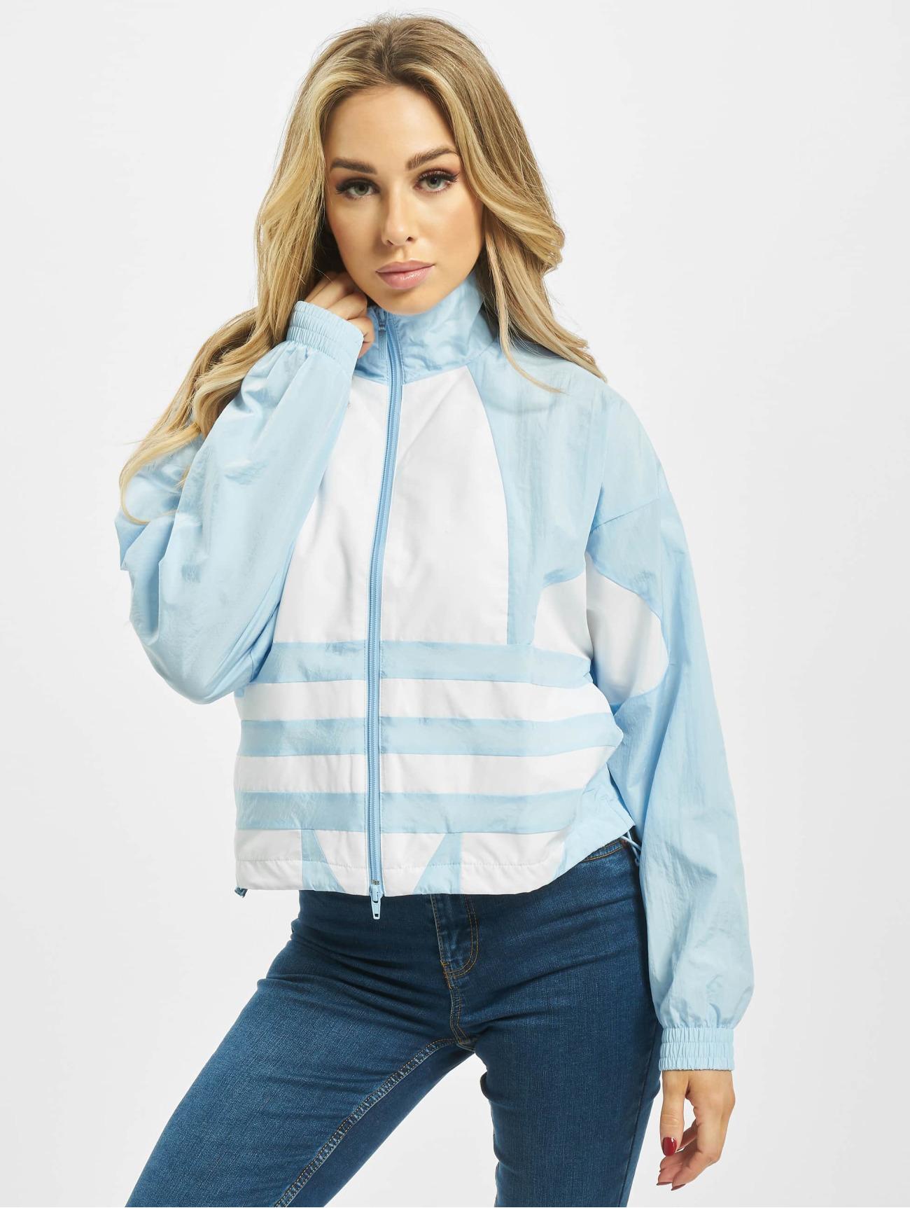 adidas Originals   LRG Logo bleu Femme Veste