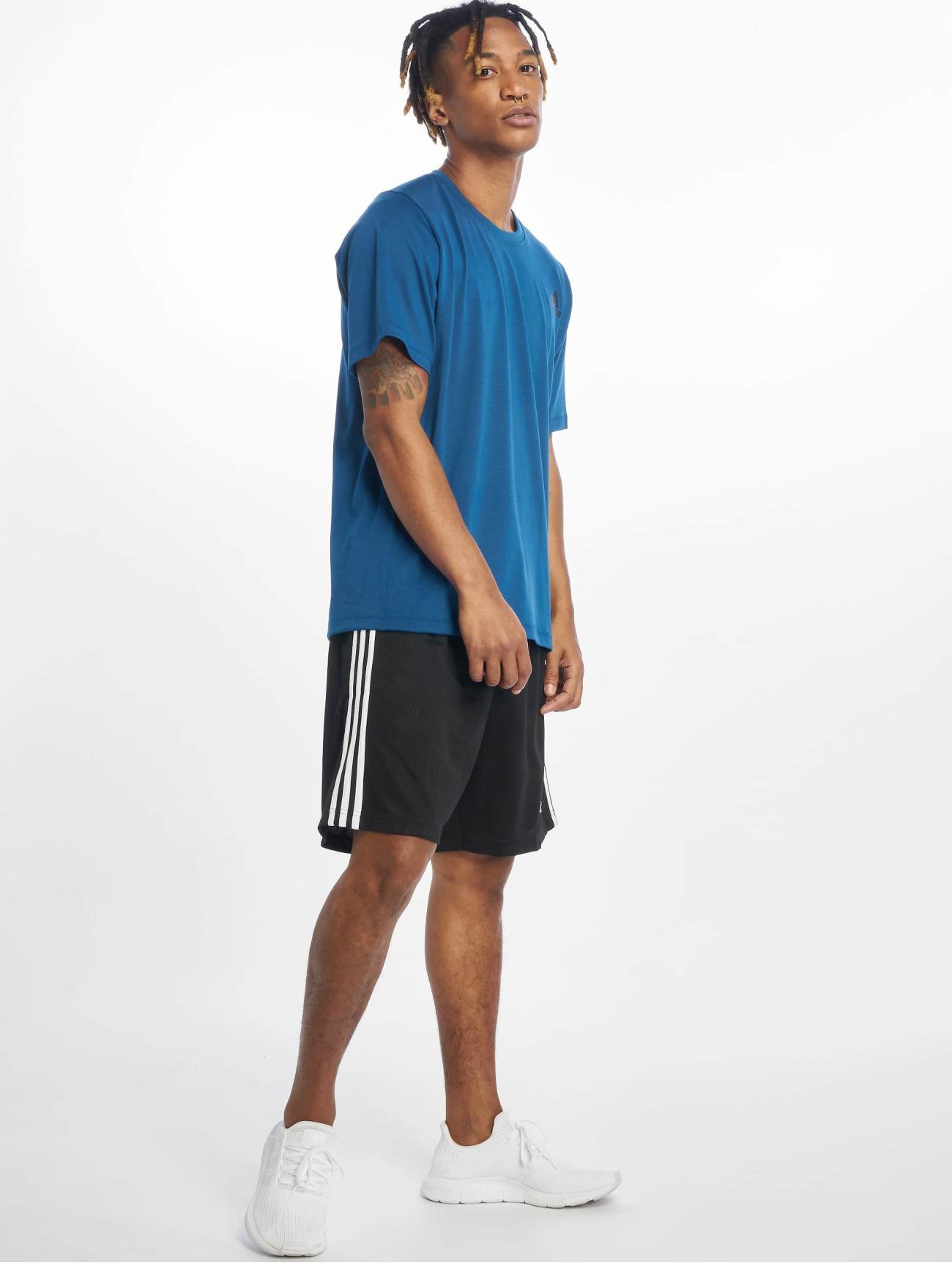 adidas Performance Överdel / T-shirt Freelift i blå 617474 Män Överdelar