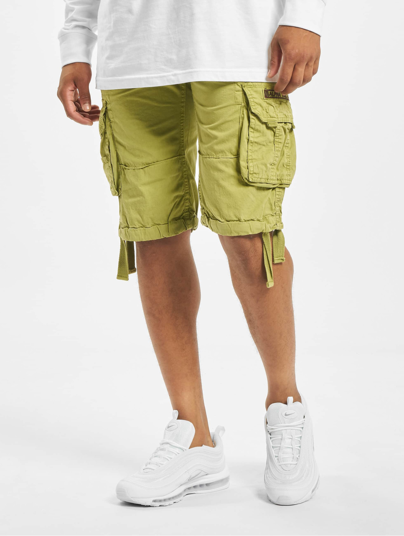Alpha Industries  Jet   kaki Homme Short  606712 Homme Pantalons & Shorts