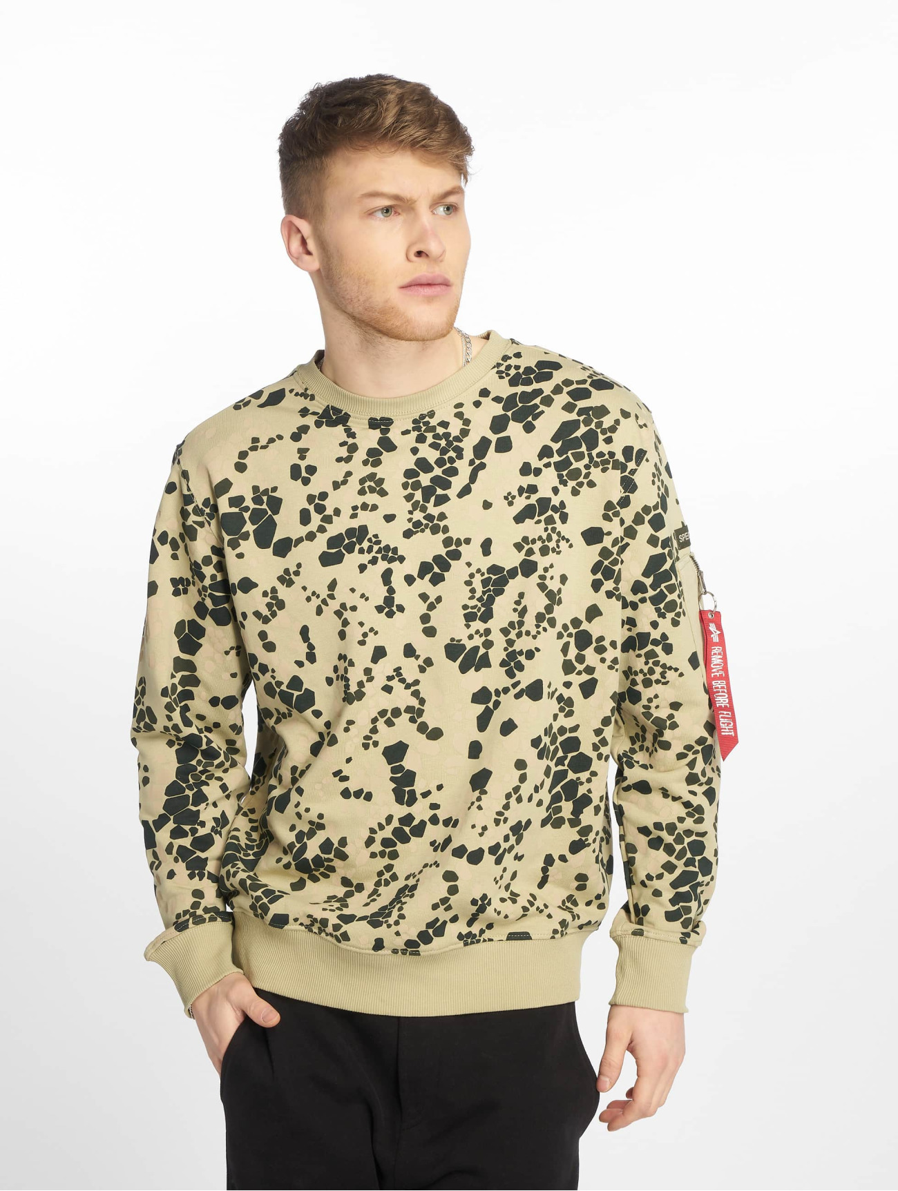 Alpha Industries | Special Forces  vert Homme Sweat & Pull  607041| Homme Hauts