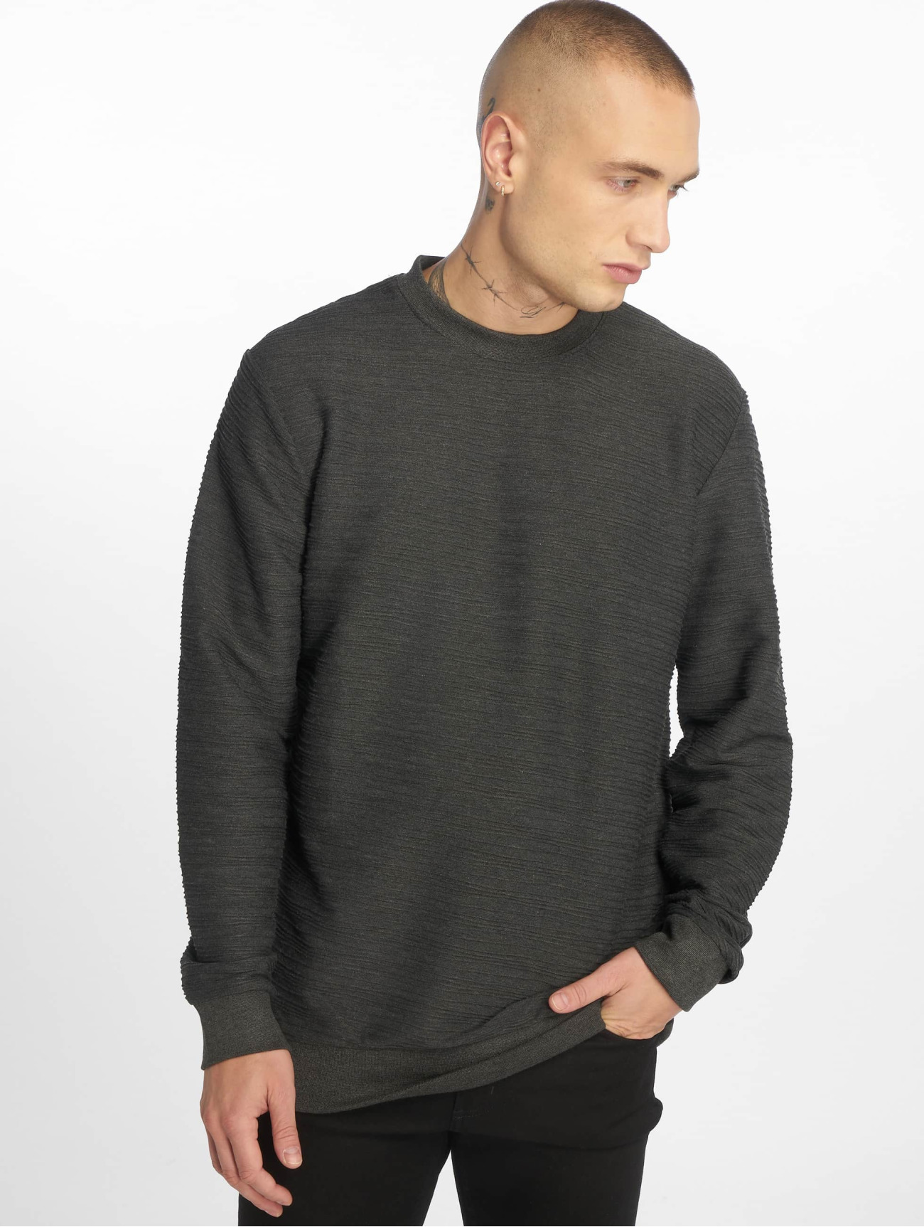 Bangastic | Stripes Bang gris Homme Sweat & Pull 414077| Homme Hauts