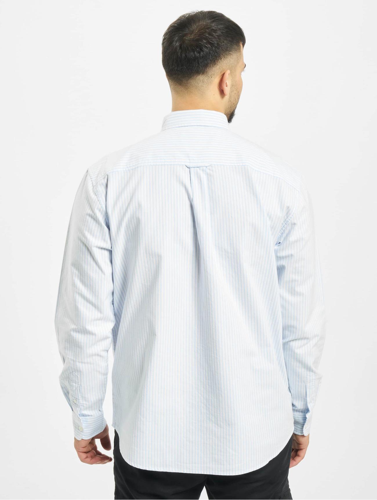 Carhartt WIP Överdel / Skjorta Karev  i blå 645879 Män Överdelar