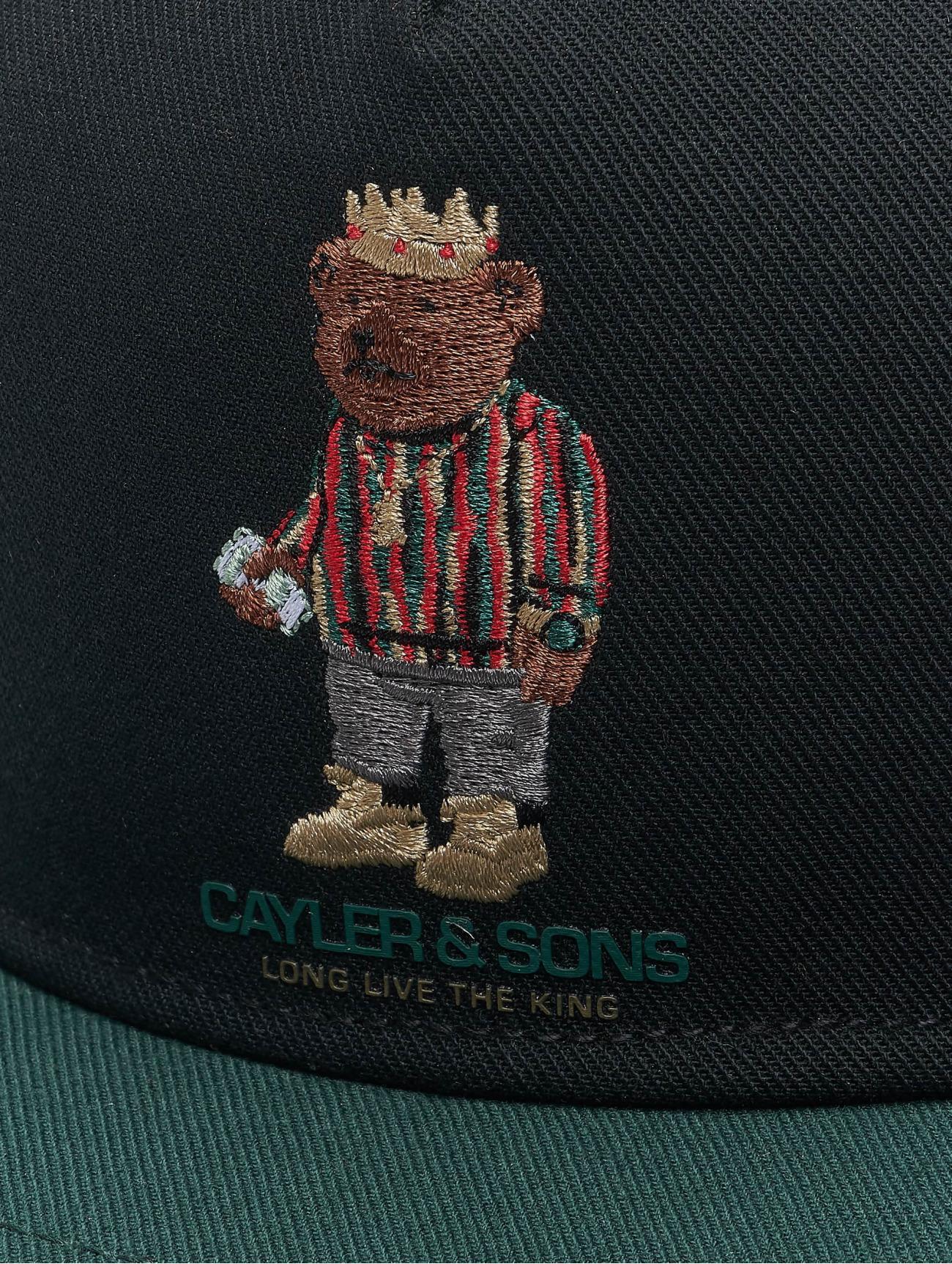 Cayler & Sons  WL Bedstuy  noir  Casquette Snapback & Strapback  427425 Homme Casquettes