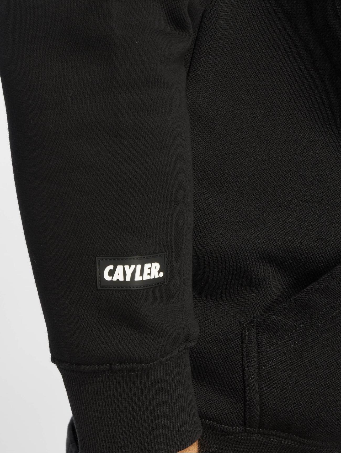 Cayler & Sons | Wl King Lines  noir Homme Sweat capuche  621520| Homme Hauts