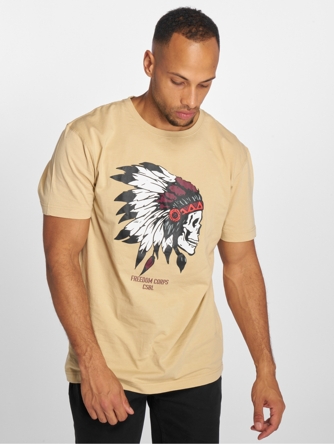 Cayler & Sons | Csbl Tee Freedom Corps  beige Homme T-Shirt  506938| Homme Hauts
