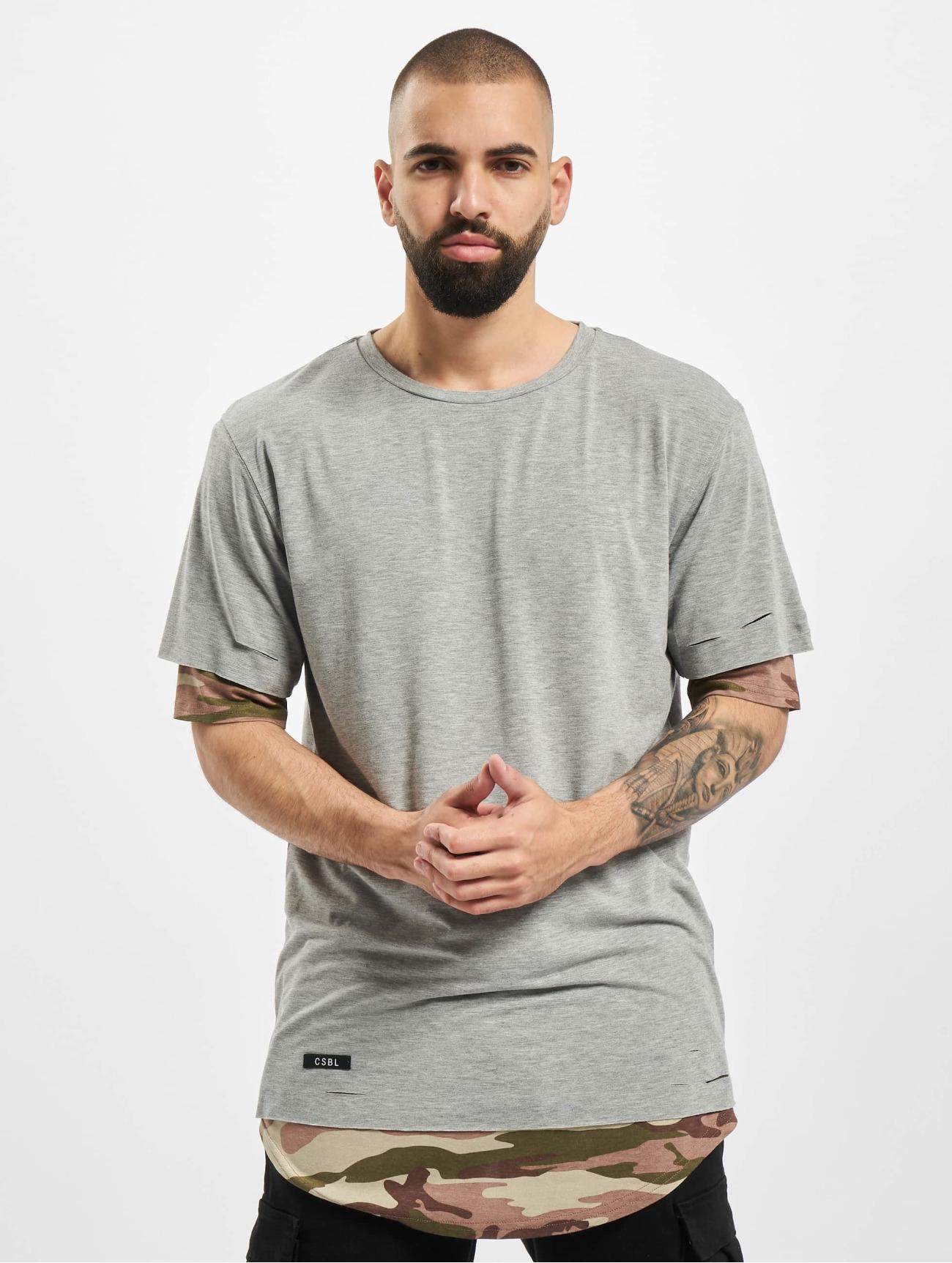 Cayler & Sons | CSBL Deuces  gris Homme T-Shirt  556779| Homme Hauts