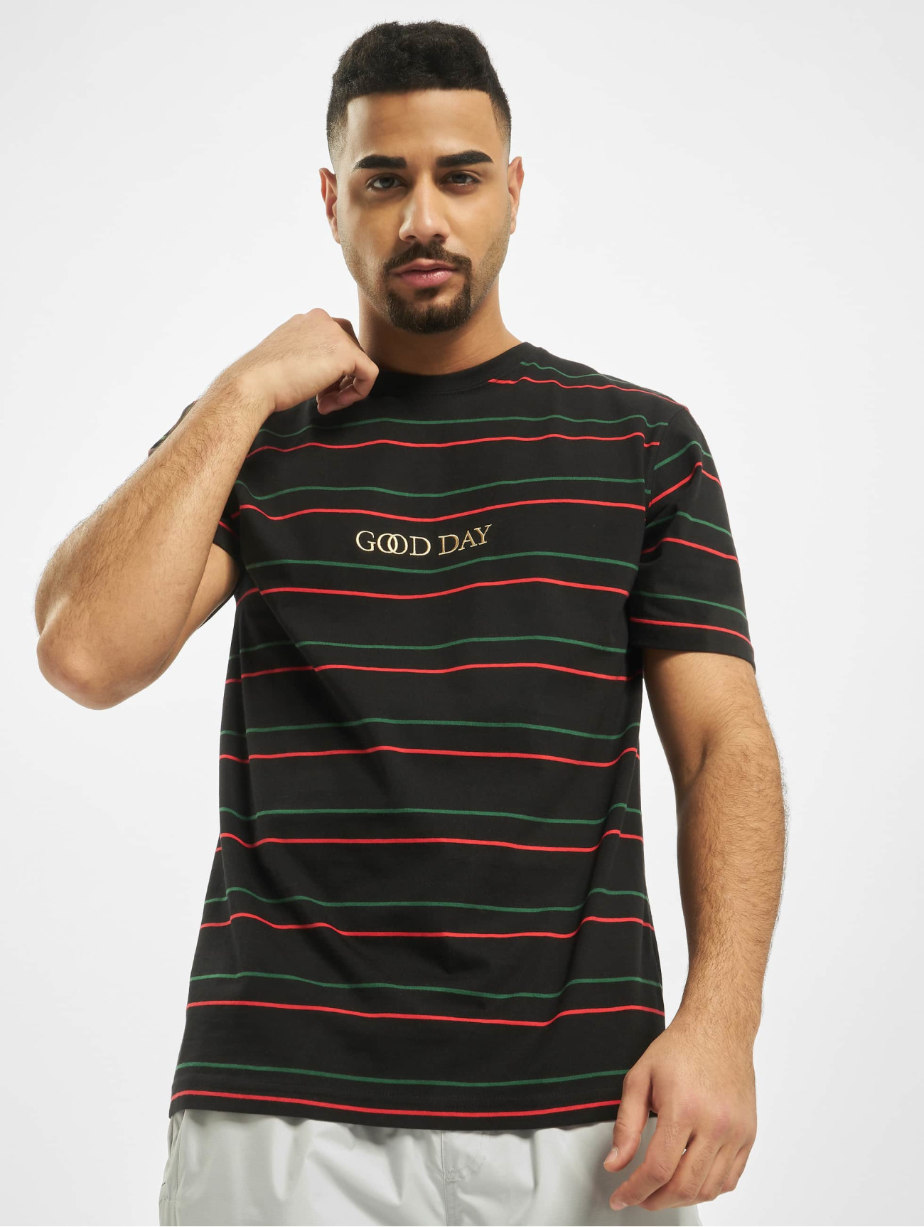 Cayler & Sons | WL Good Day Stripe  noir Homme T-Shirt  742855| Homme Hauts
