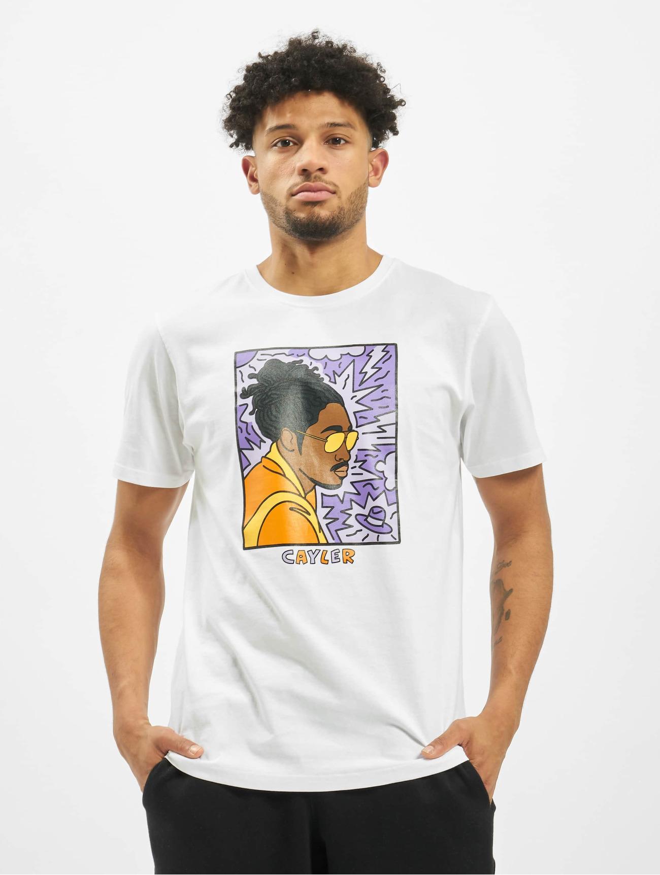 Cayler & Sons Herren T-Shirt WL Low Lines in weiß 715651