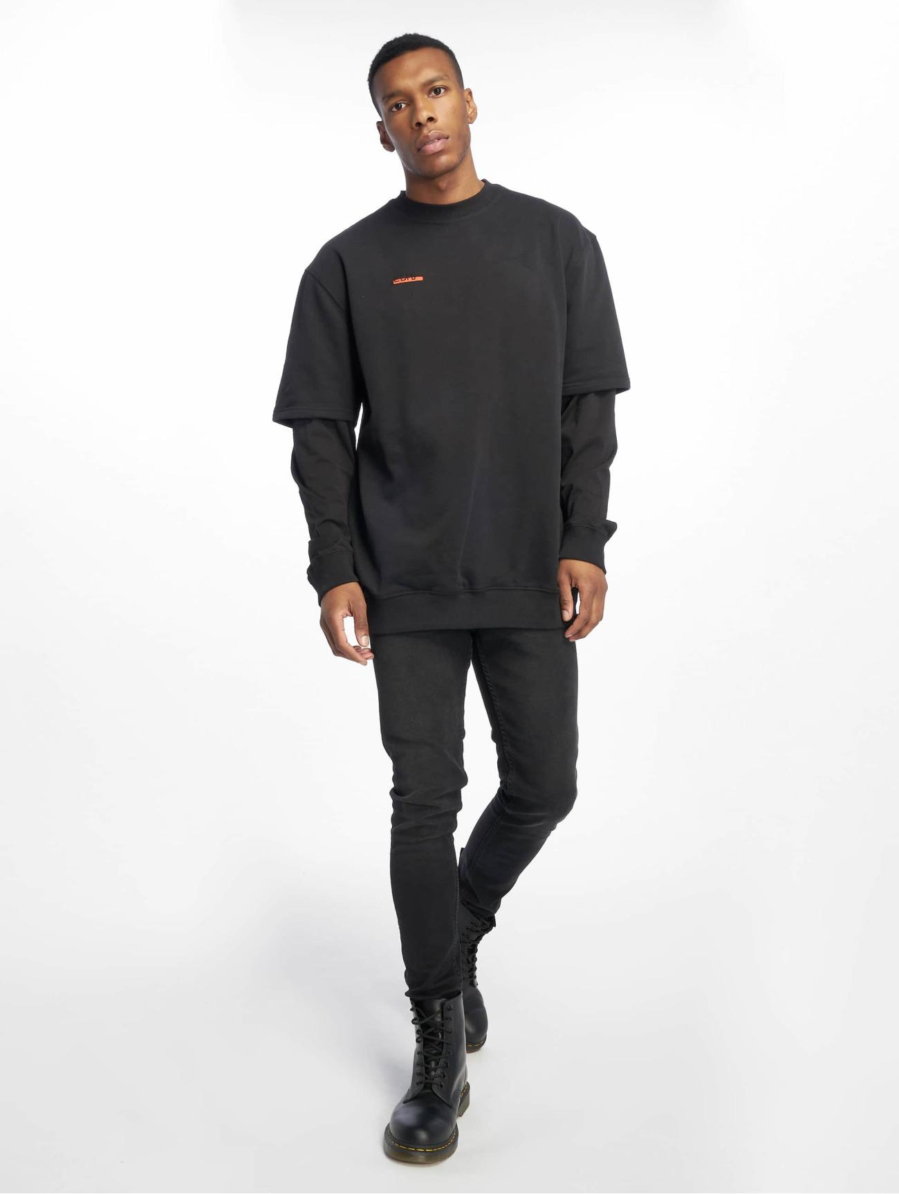 De Ferro | Arm B Line  noir Homme Sweat & Pull  604871| Homme Hauts