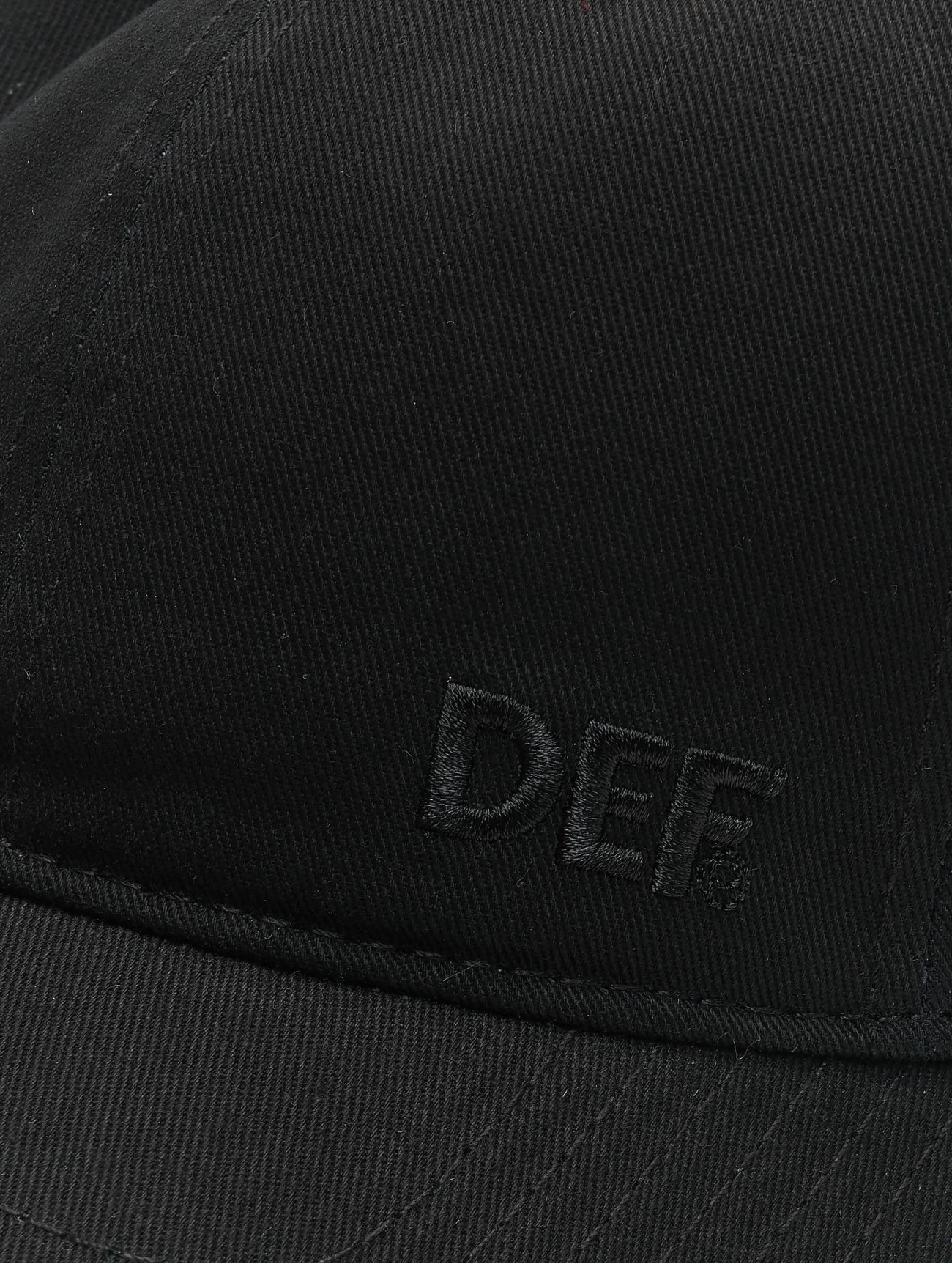 DEF  Daddy  noir  Casquette Snapback & Strapback  748715 Homme Casquettes