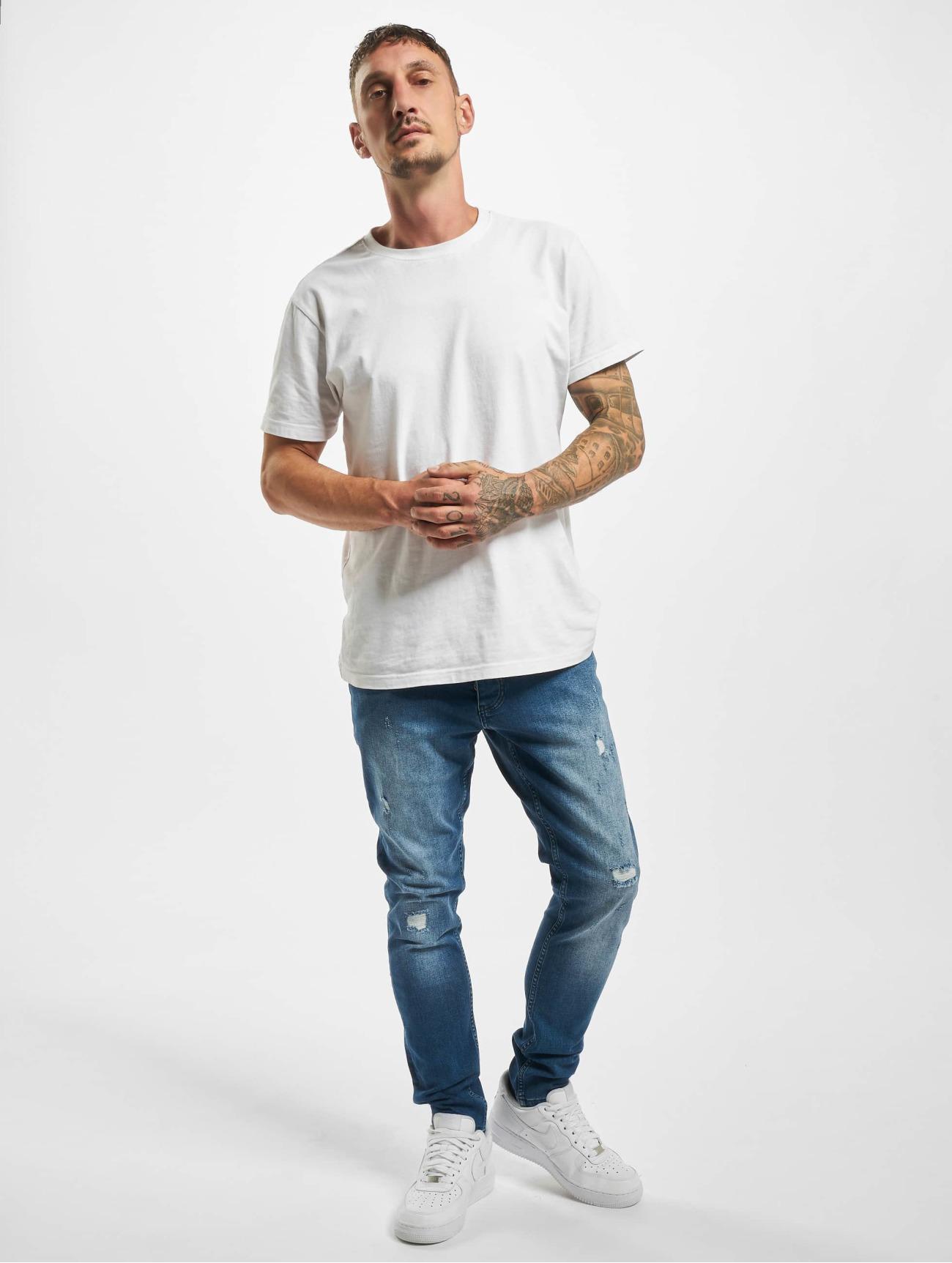 DEF  Greg   bleu Homme Jean coupe droite  765480 Homme Jeans