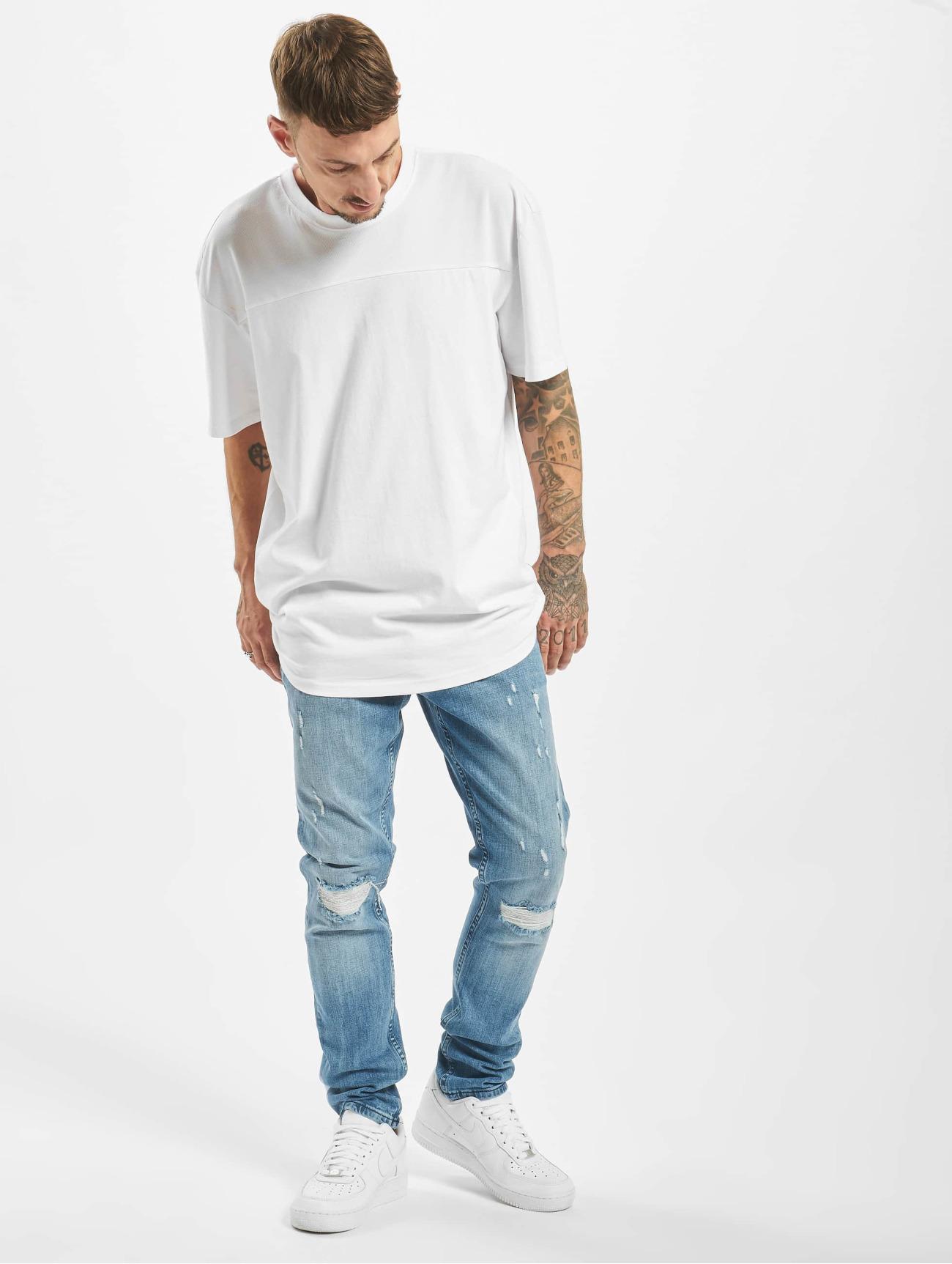 DEF Jeans / Slim Fit Jeans Wes  i blå 657895 Män Jeans