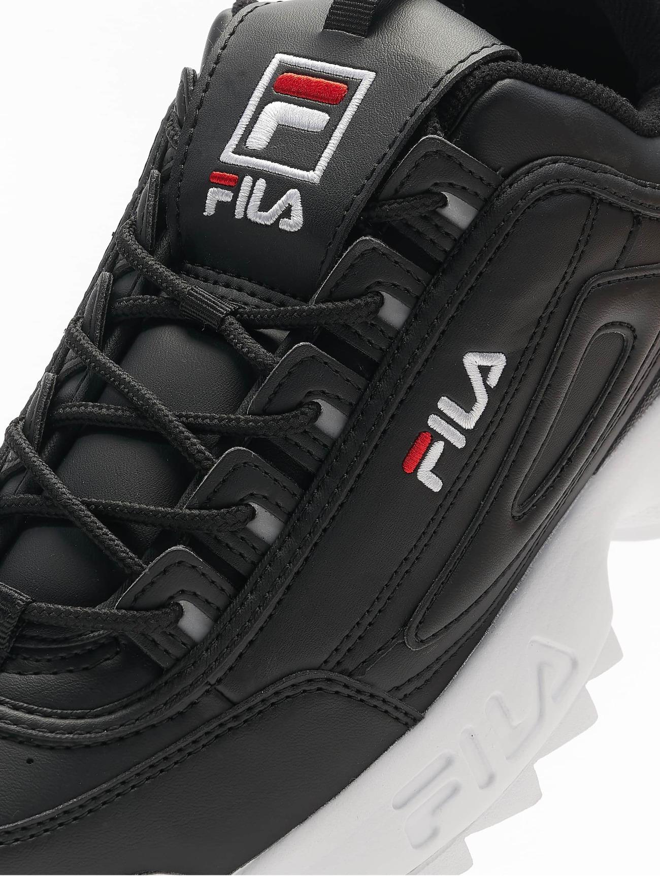 FILA Heritage Disruptor noir Homme Baskets 509610 Homme Chaussures