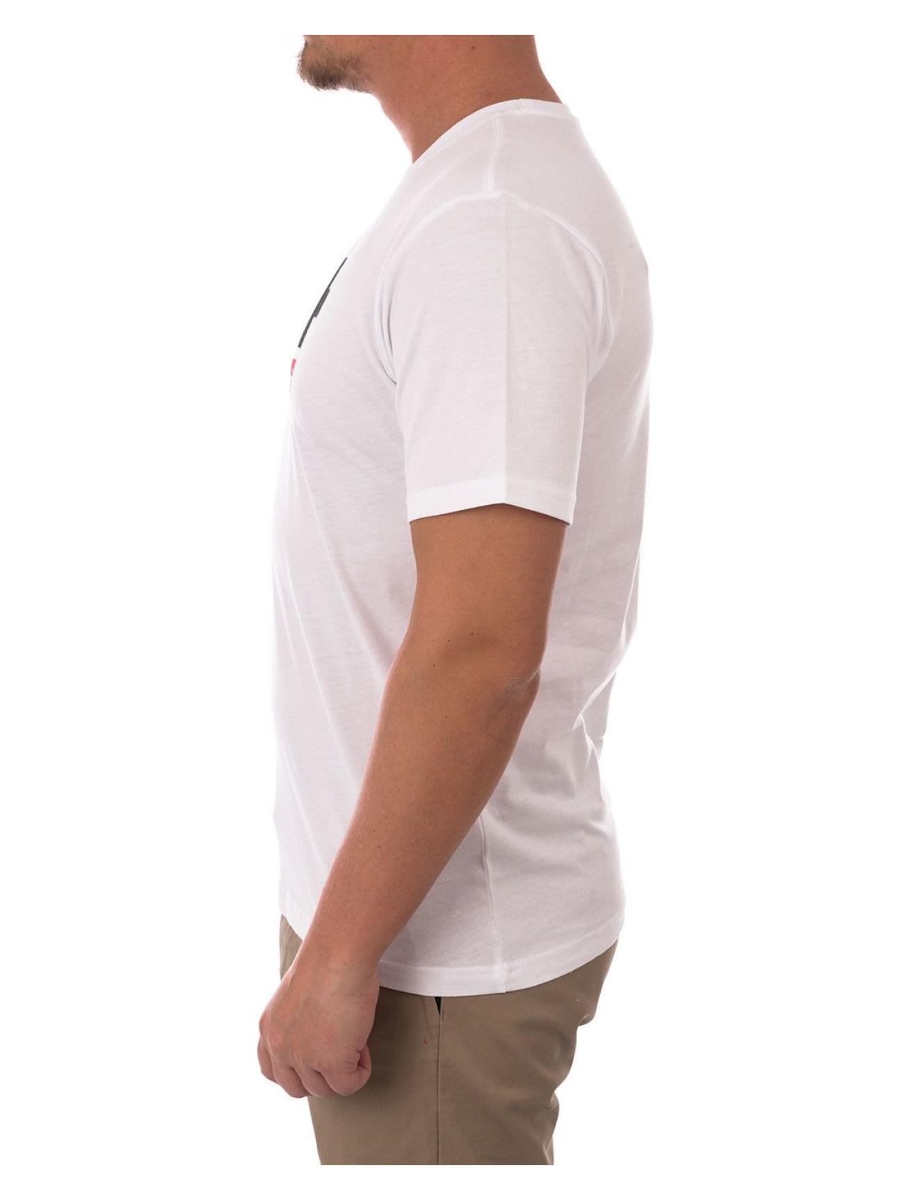 Helly Hansen | Logo  blanc Homme T-Shirt  562001| Homme Hauts
