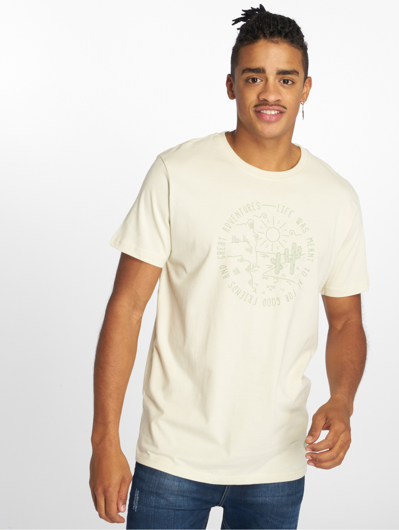 Just Rhyse | Sant Lucia  blanc Homme T-Shirt  432850| Homme Hauts