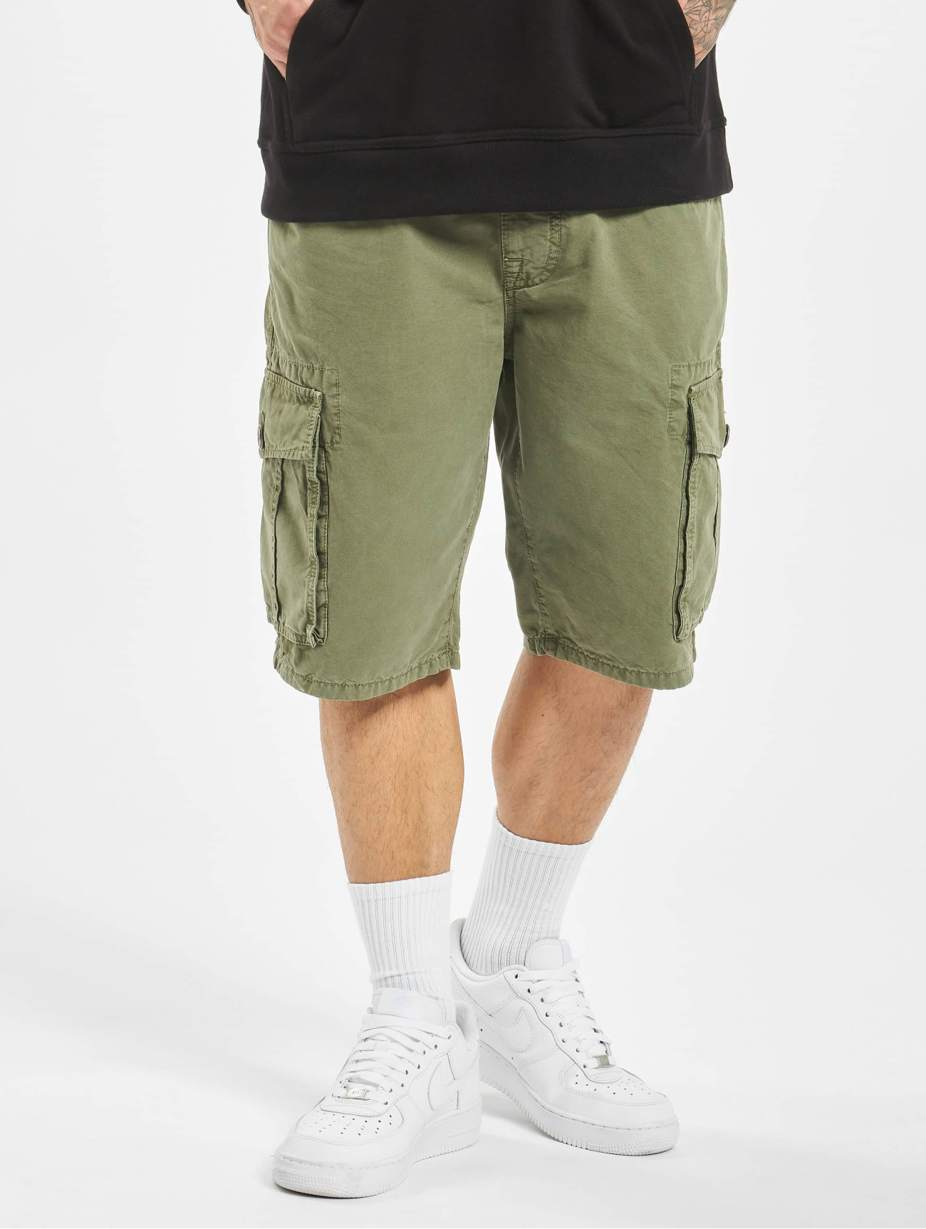 Mavi Jeans  Cargo   olive Homme Short  604437 Homme Pantalons & Shorts