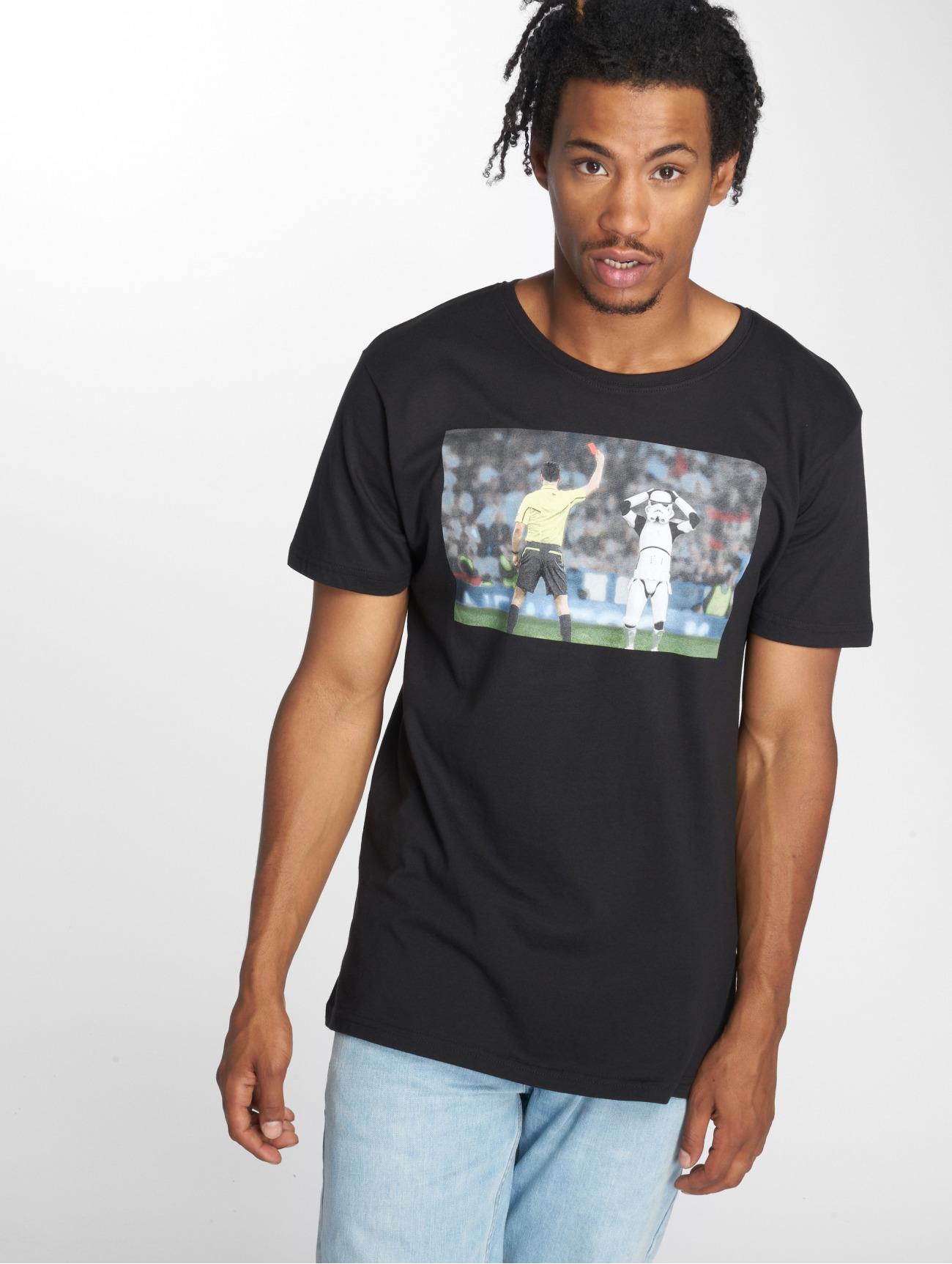 Merchcode | Stormtrooper Red Card  noir Homme T-Shirt  543167| Homme Hauts