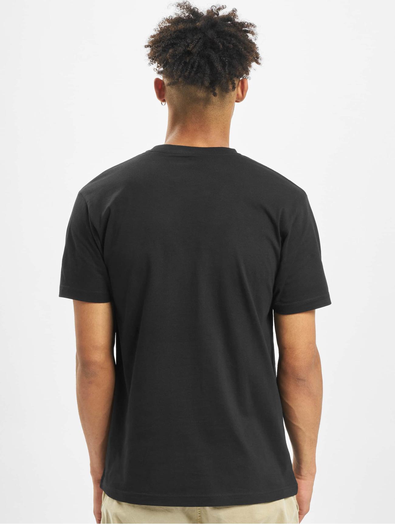 Merchcode Herren T-Shirt Godfather Portrait  in schwarz 619849