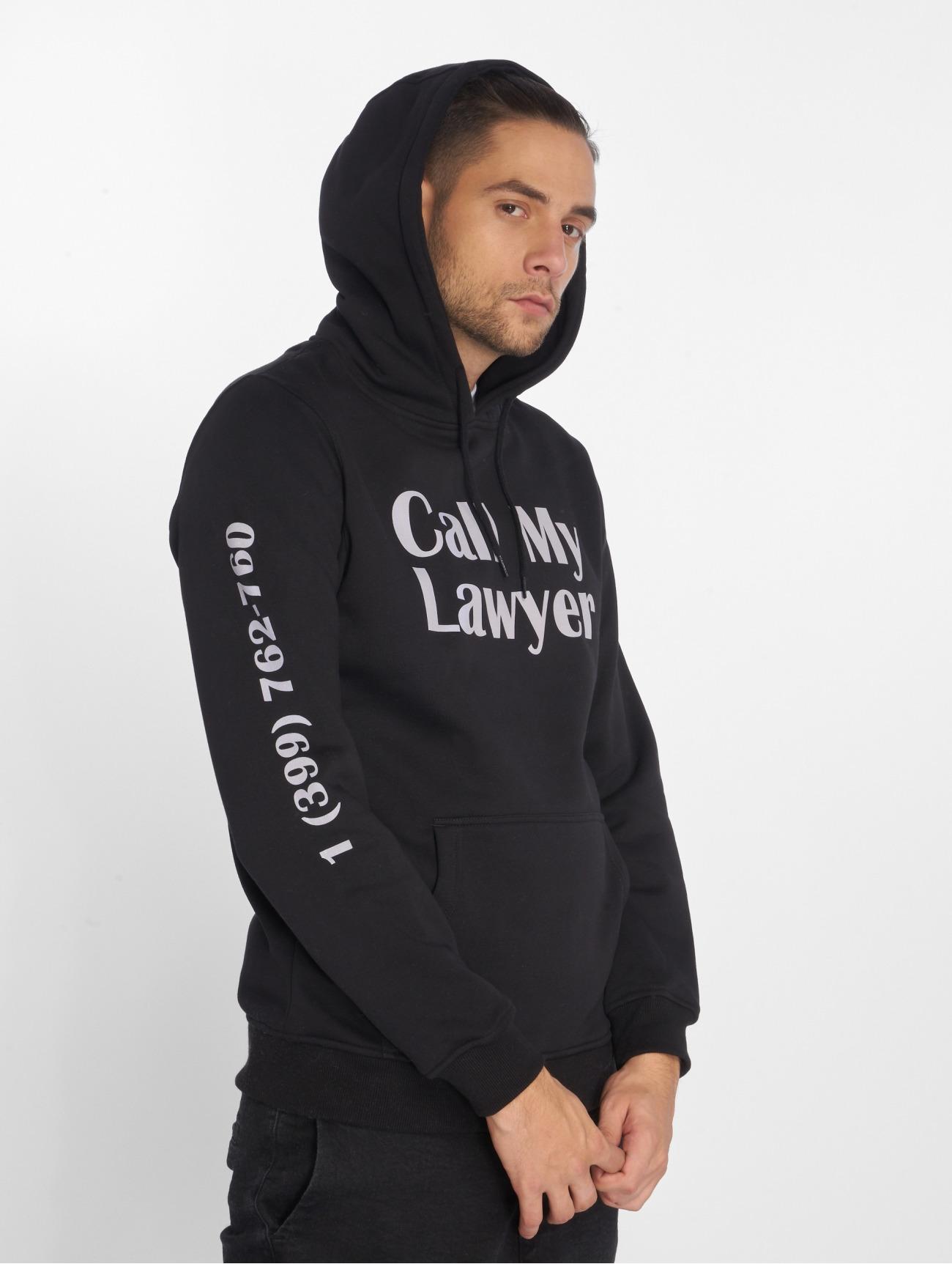 Mister Tee Yläosat | Lawyer Hupparit | musta 550701