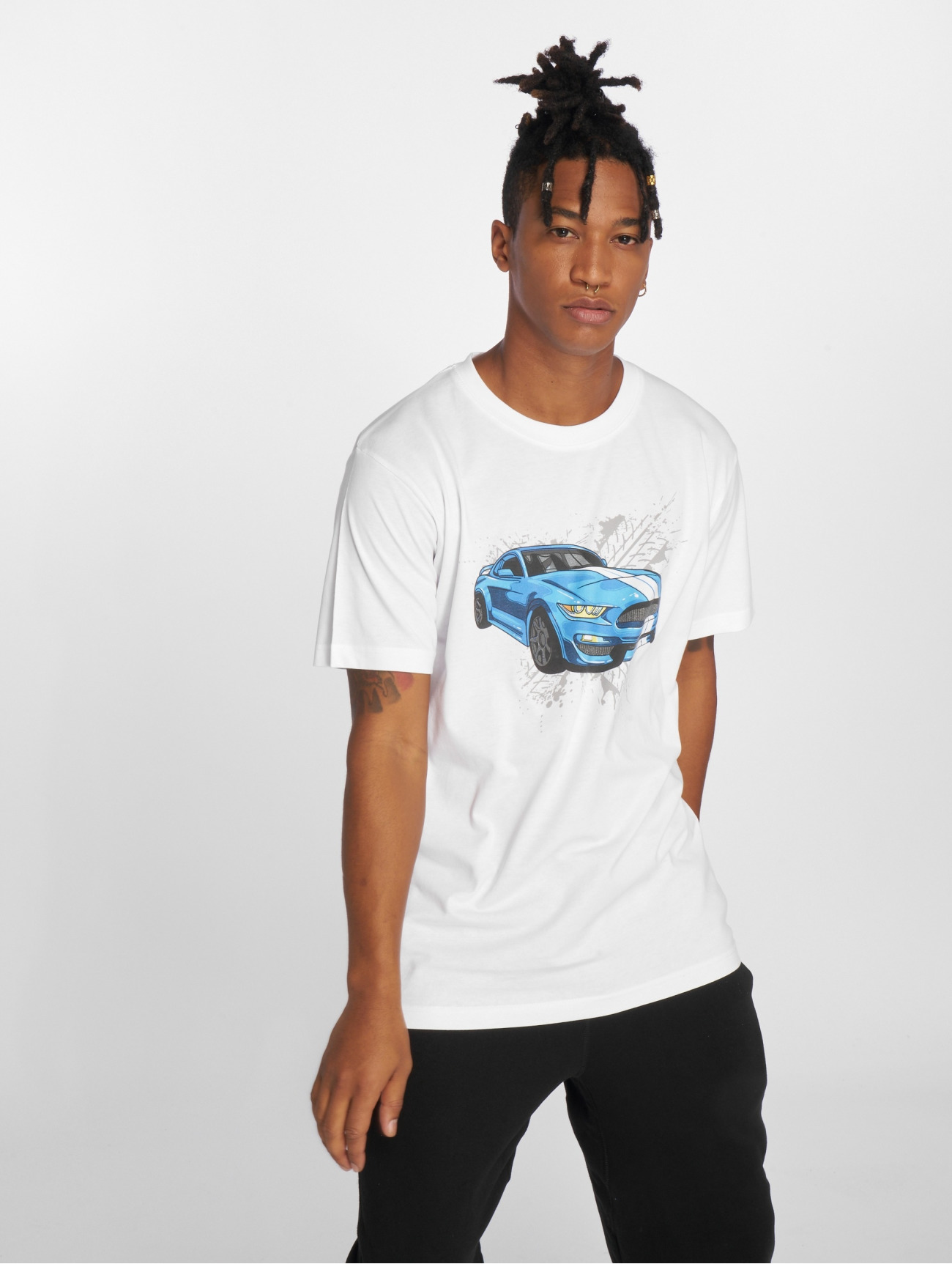 Mister Tee | Go Fast  blanc Homme T-Shirt  574731| Homme Hauts