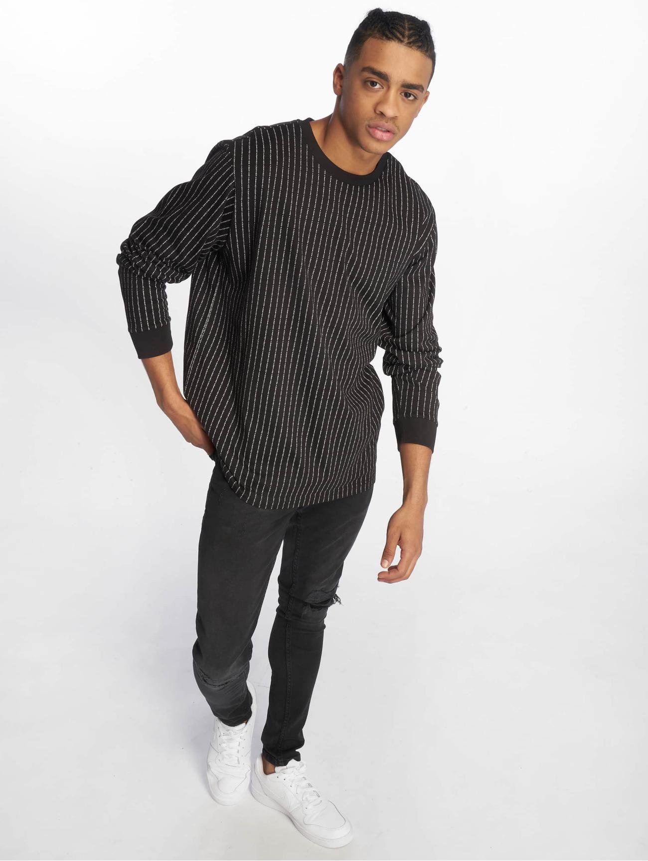 Mister Tee | Fuckyou  noir Homme T-Shirt manches longues  587915| Homme Hauts