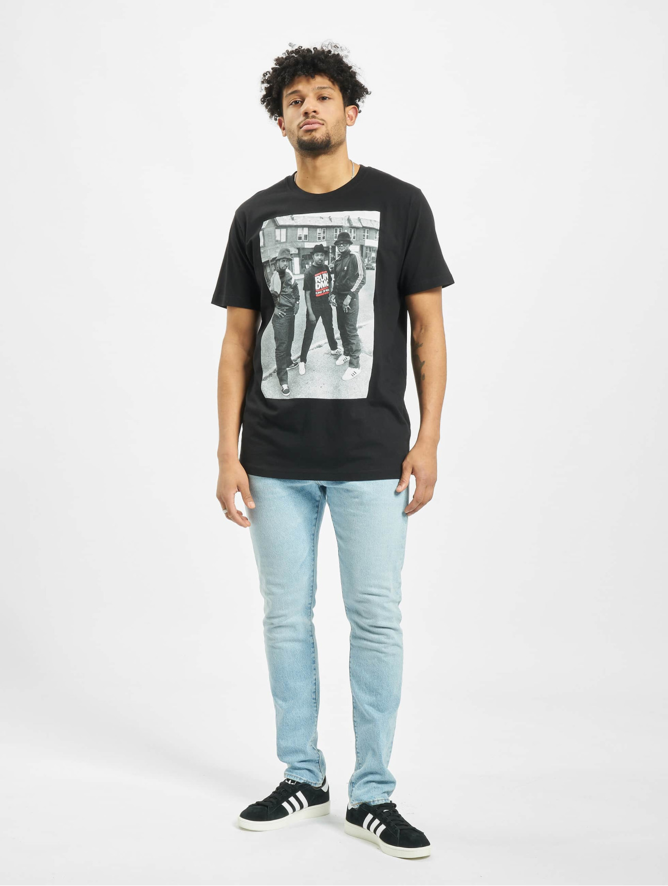 Mister Tee | Run DMC Kings Of Rock noir Homme T-Shirt 197315| Homme Hauts