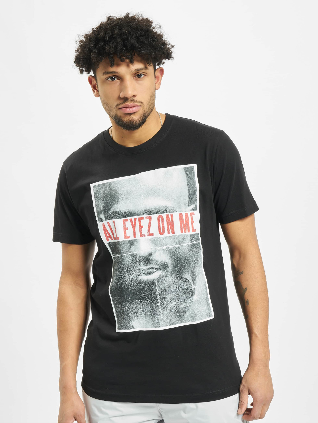 Mister Tee | 2PAC All Eyez On Me  noir Homme T-Shirt  245698| Homme Hauts