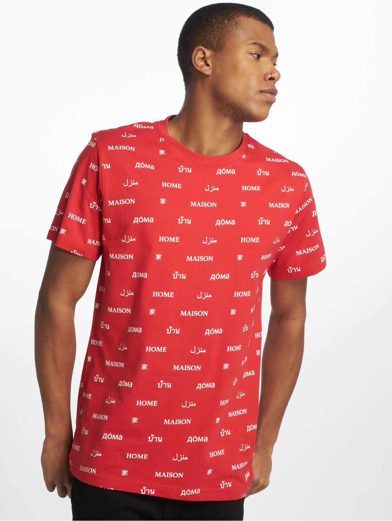 Mister Tee | Home  rouge Homme T-Shirt  543220| Homme Hauts