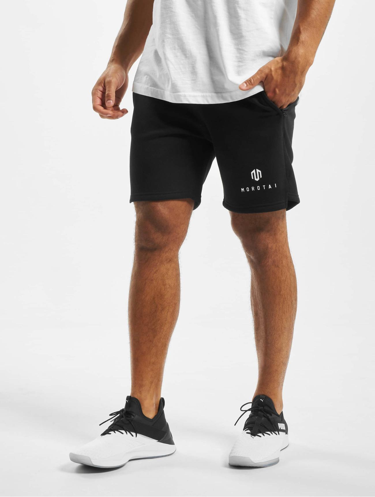 MOROTAI  NKMR Neotech  noir Homme Short  708985 Homme Pantalons & Shorts