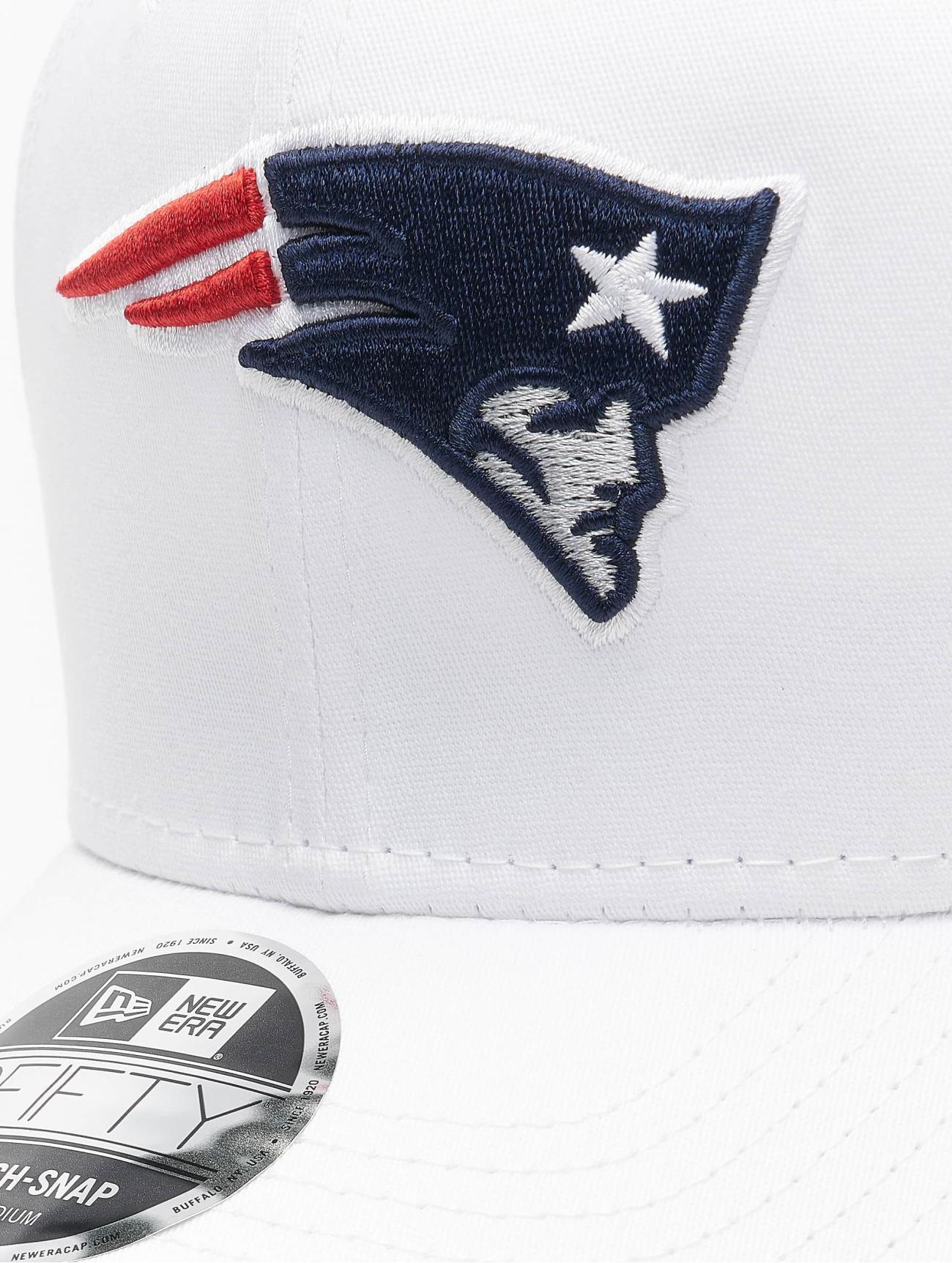 New Era  NFL New England Patriots White Base  blanc  Casquette Snapback & Strapback  755310 Homme Casquettes