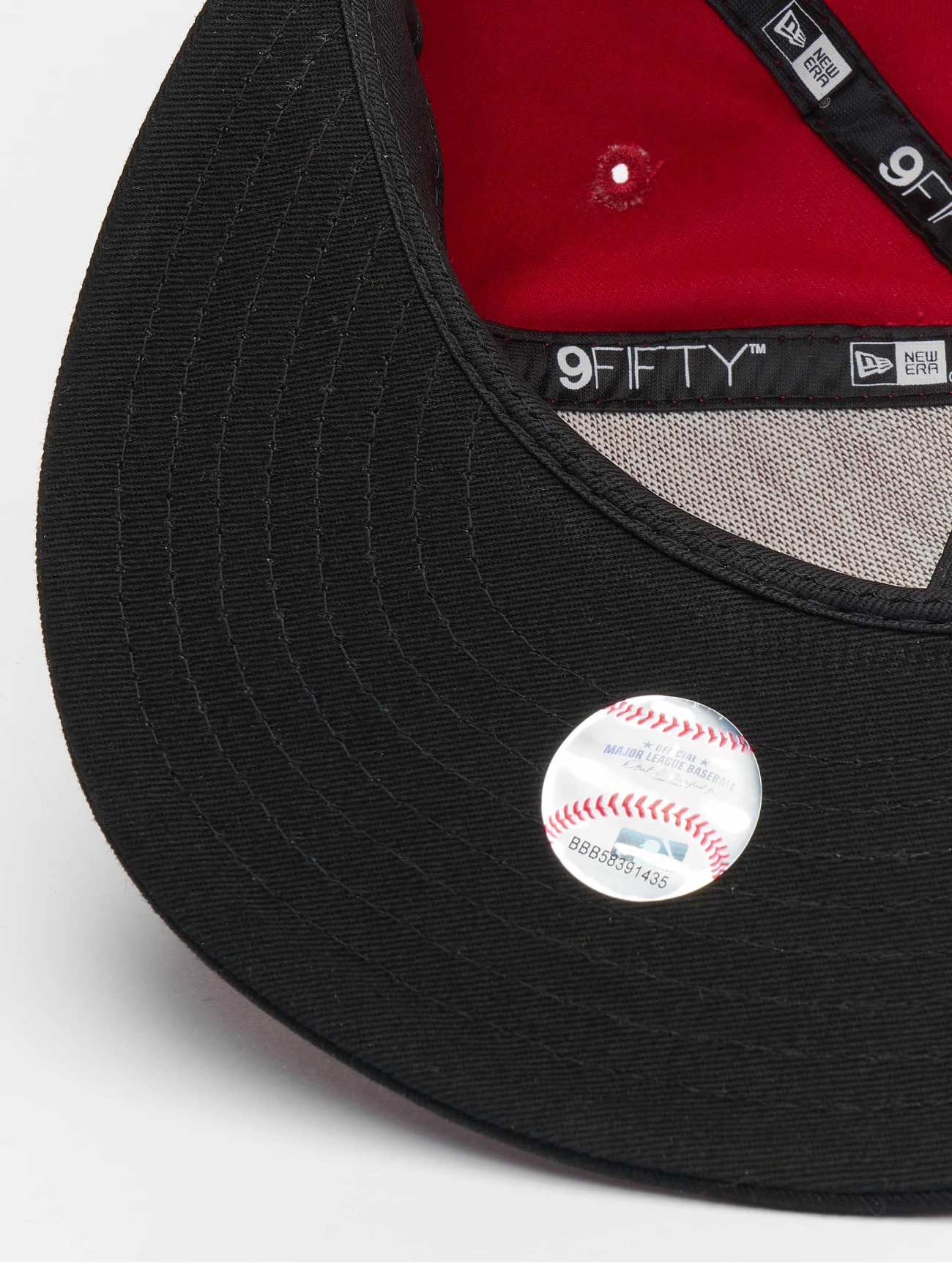 New Era  MLB Cotton Block NY Yankees  rouge  Casquette Snapback & Strapback  116669 Homme Casquettes