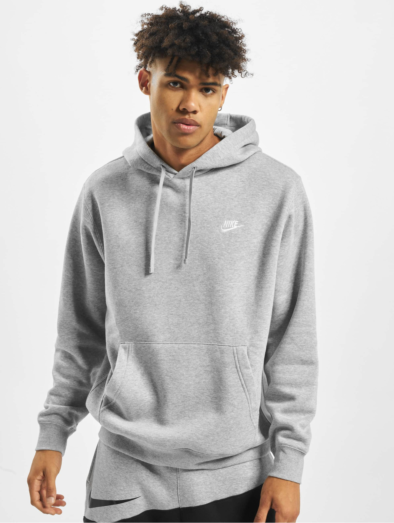 Nike | Club PO BB gris Homme Sweat capuche