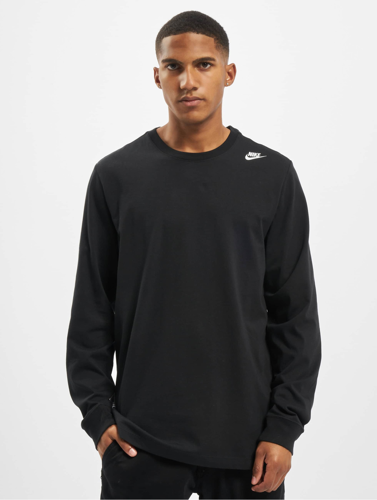 Nike | Sportswear  noir Homme T-Shirt manches longues  764912| Homme Hauts