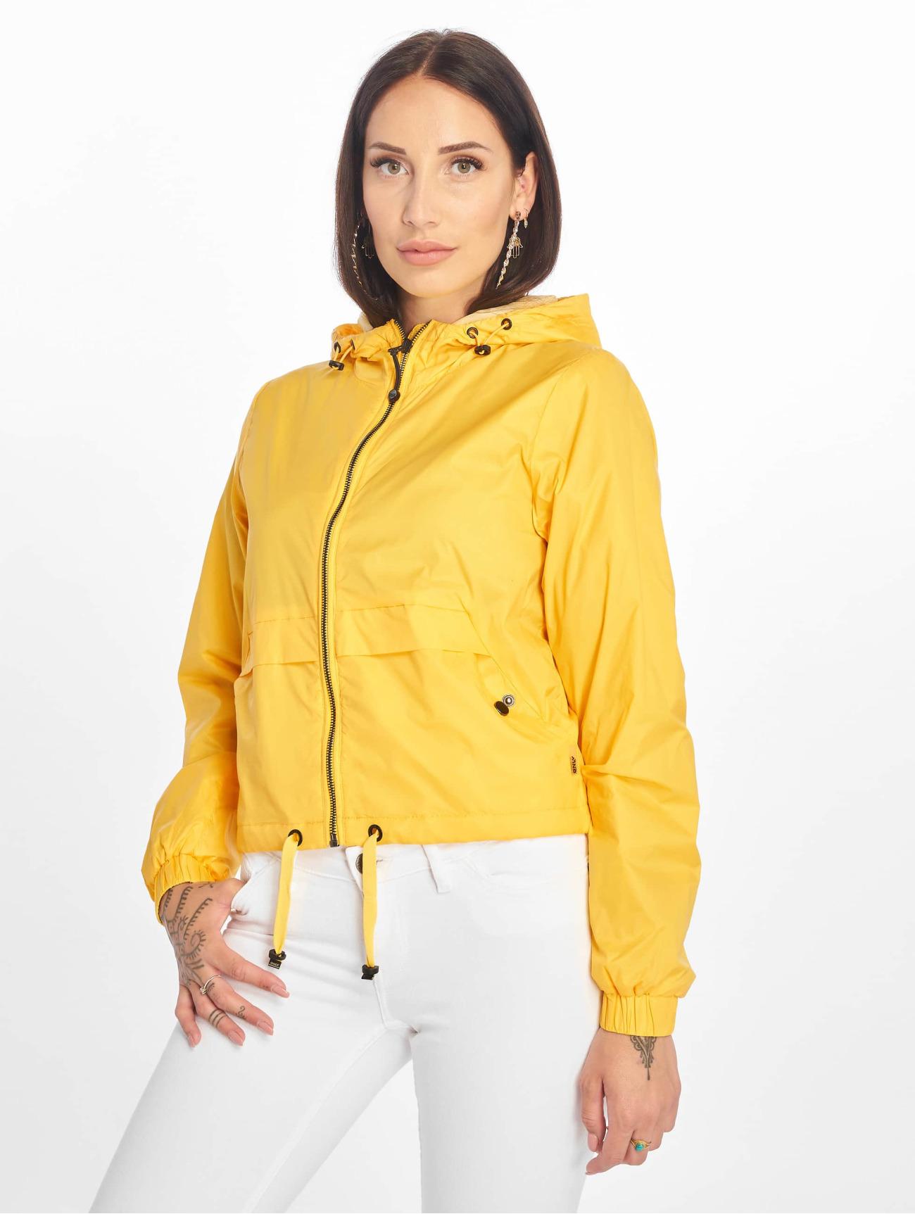 Veste legere femme jaune
