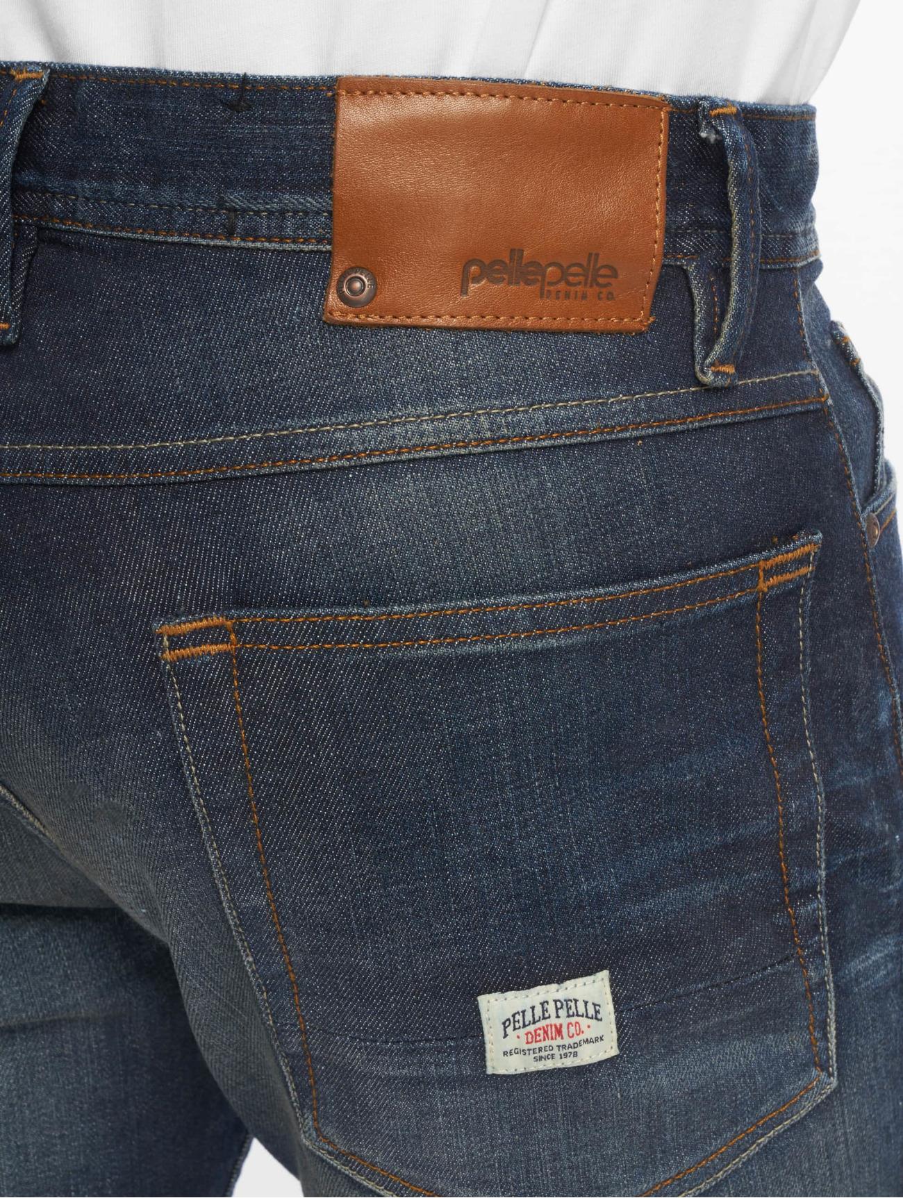 Pelle Pelle F.u. Floyd bleu Homme Jean coupe droite 645452 Homme Jeans
