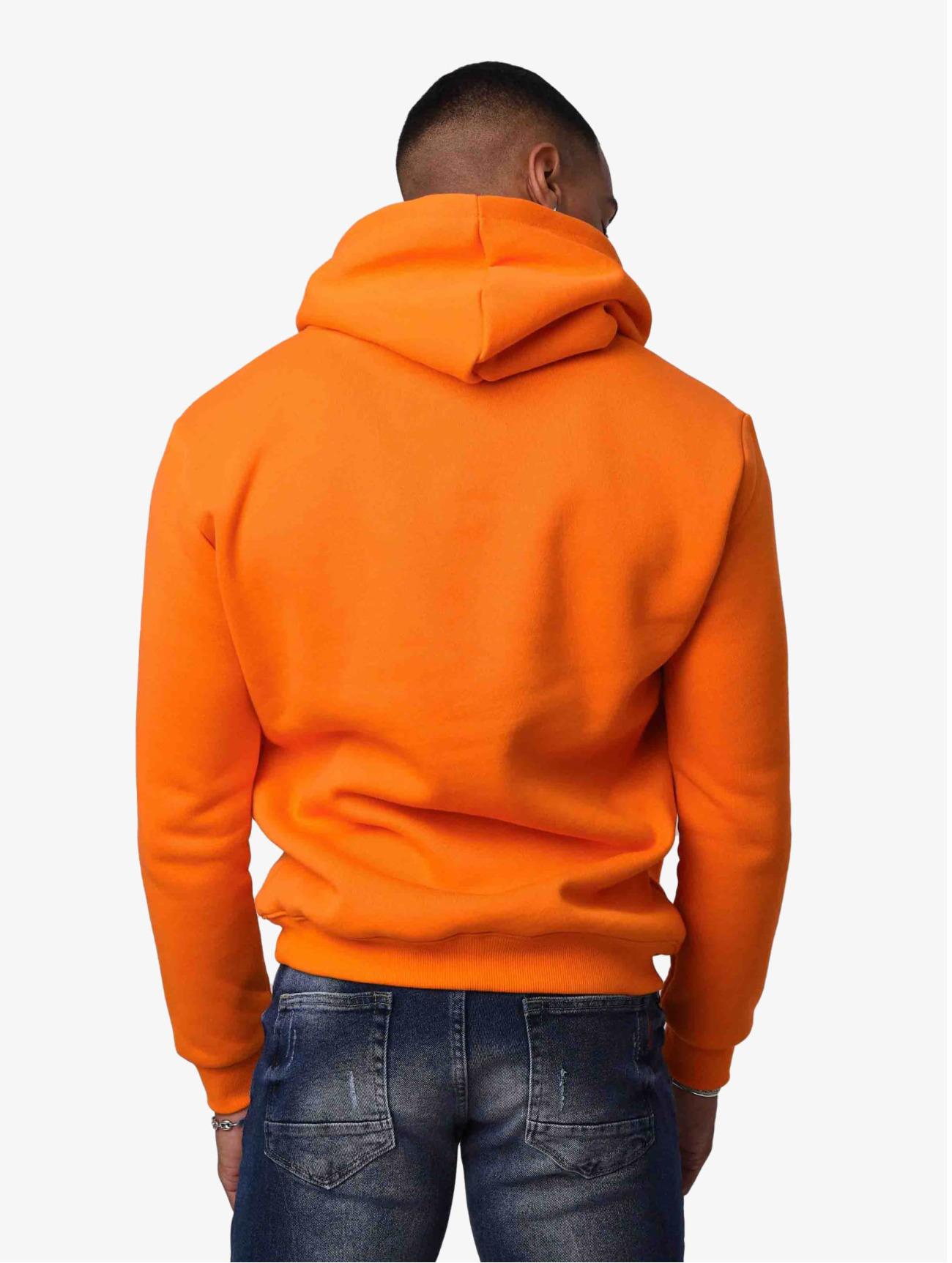 Project X Paris Överdel / Hoodie Logo  i apelsin 745536 Män Överdelar