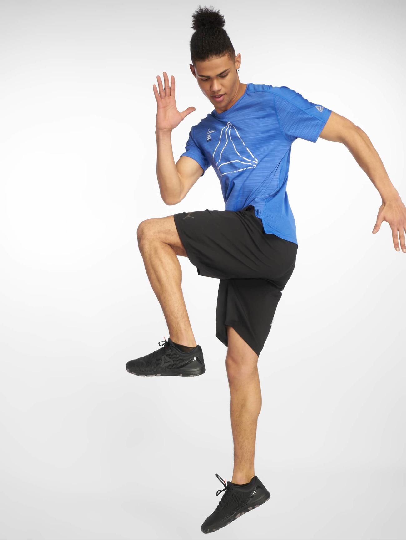 Reebok Performance Överdel / T-shirt Ost Activchill Grap i blå 618930 Män Överdelar