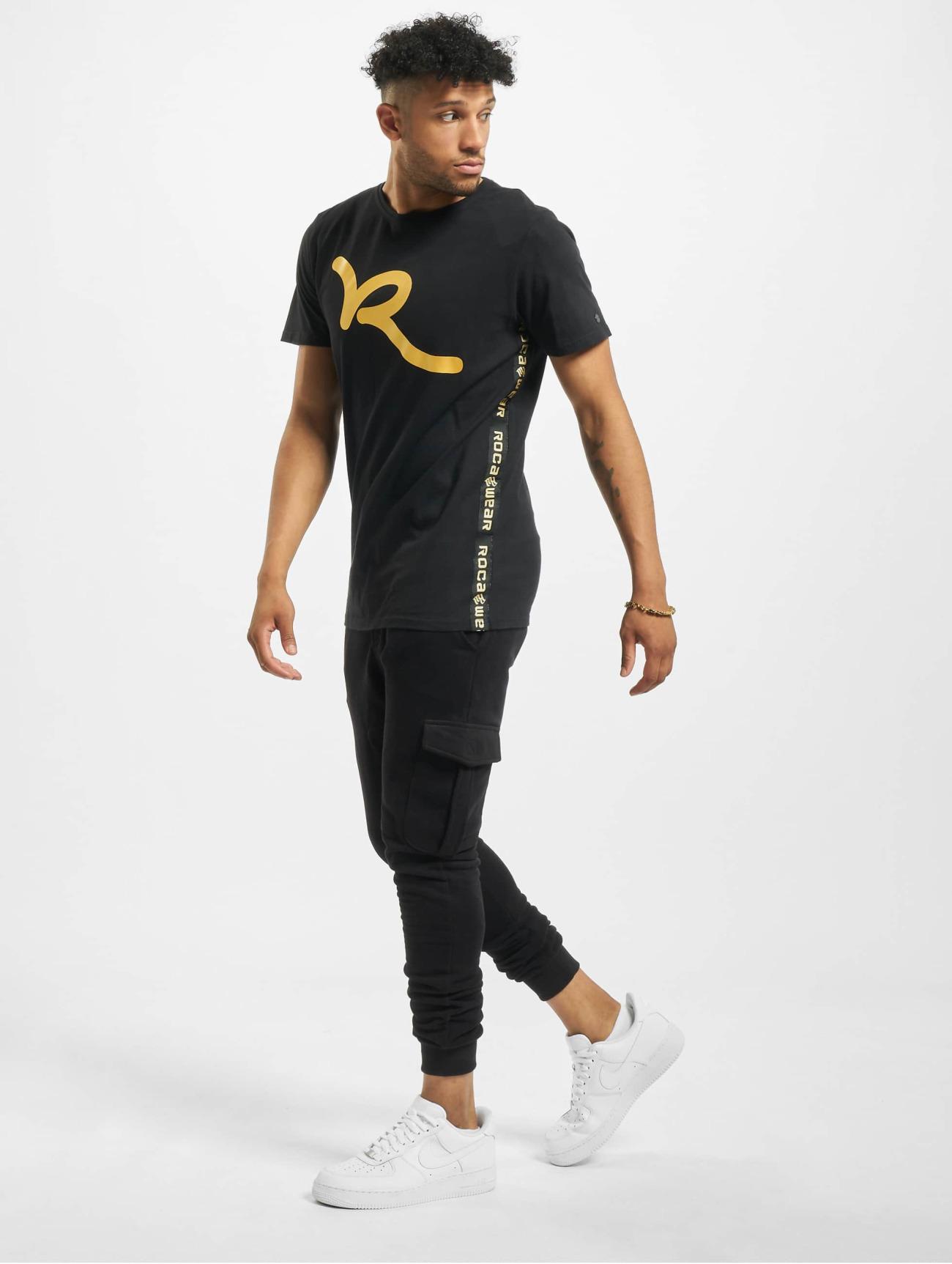 Rocawear | Midas   noir Homme T-Shirt  648147| Homme Hauts