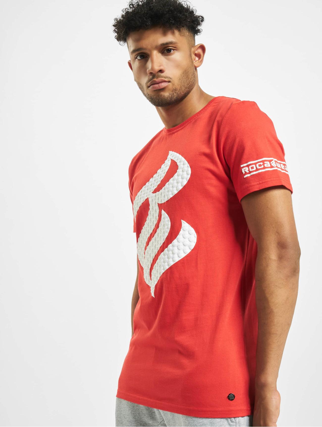 Rocawear   Arthur  rouge Homme T-Shirt  648143  Homme Hauts