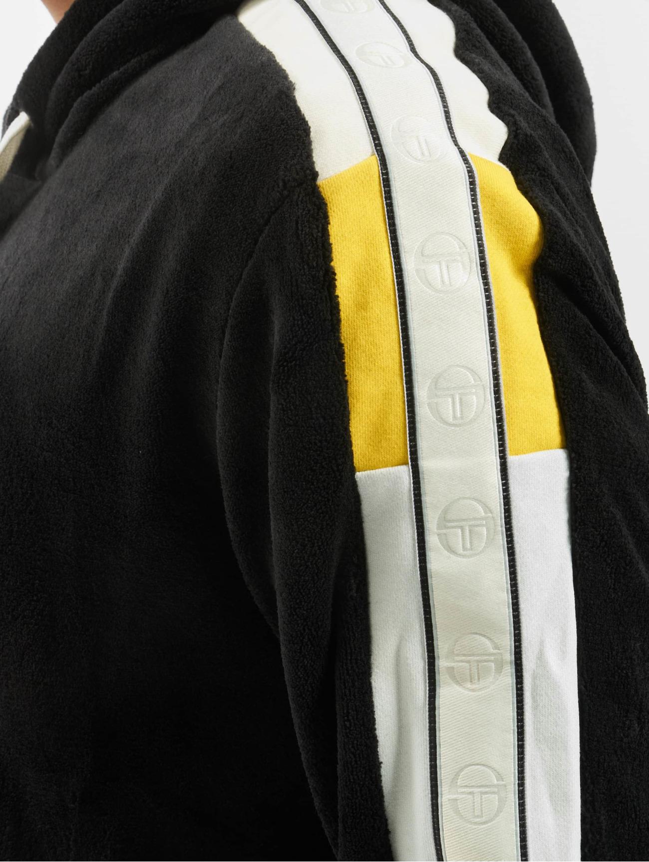 Sergio Tacchini Herren Pullover Dundee  in schwarz 709553