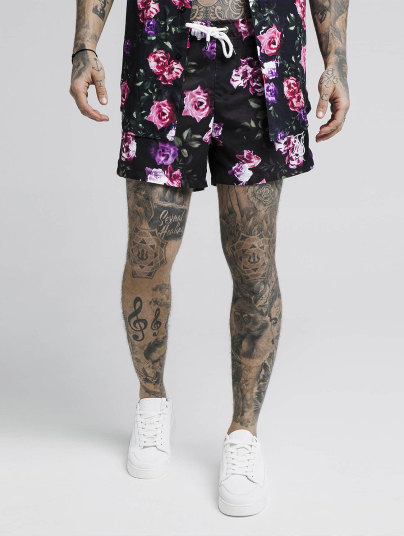Sik Silk Byxor / Shorts Standard  i svart 621183 Män Byxor