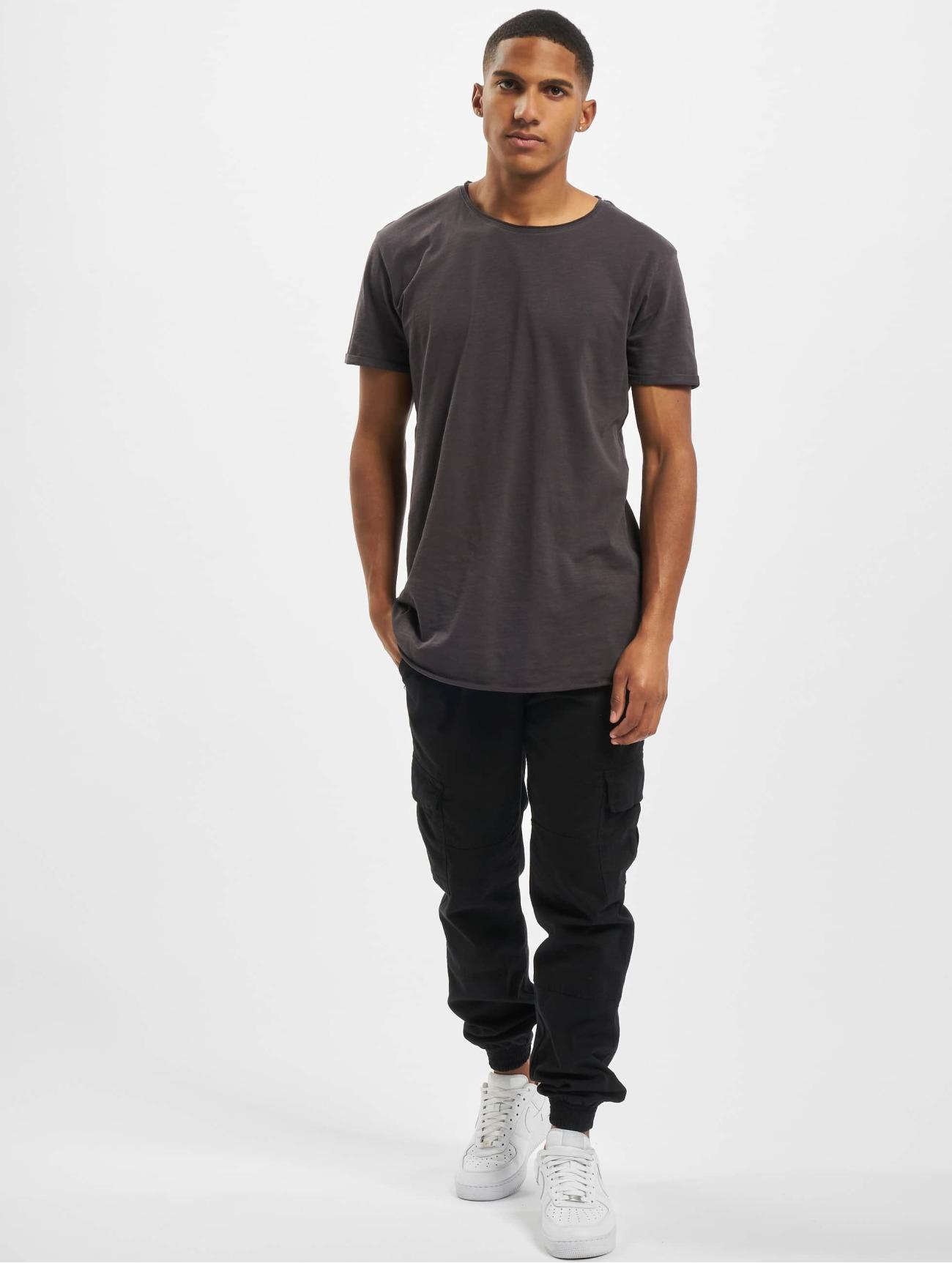 Sky Rebel | Basic 3-Pack  gris Homme T-Shirt  775806| Homme Hauts