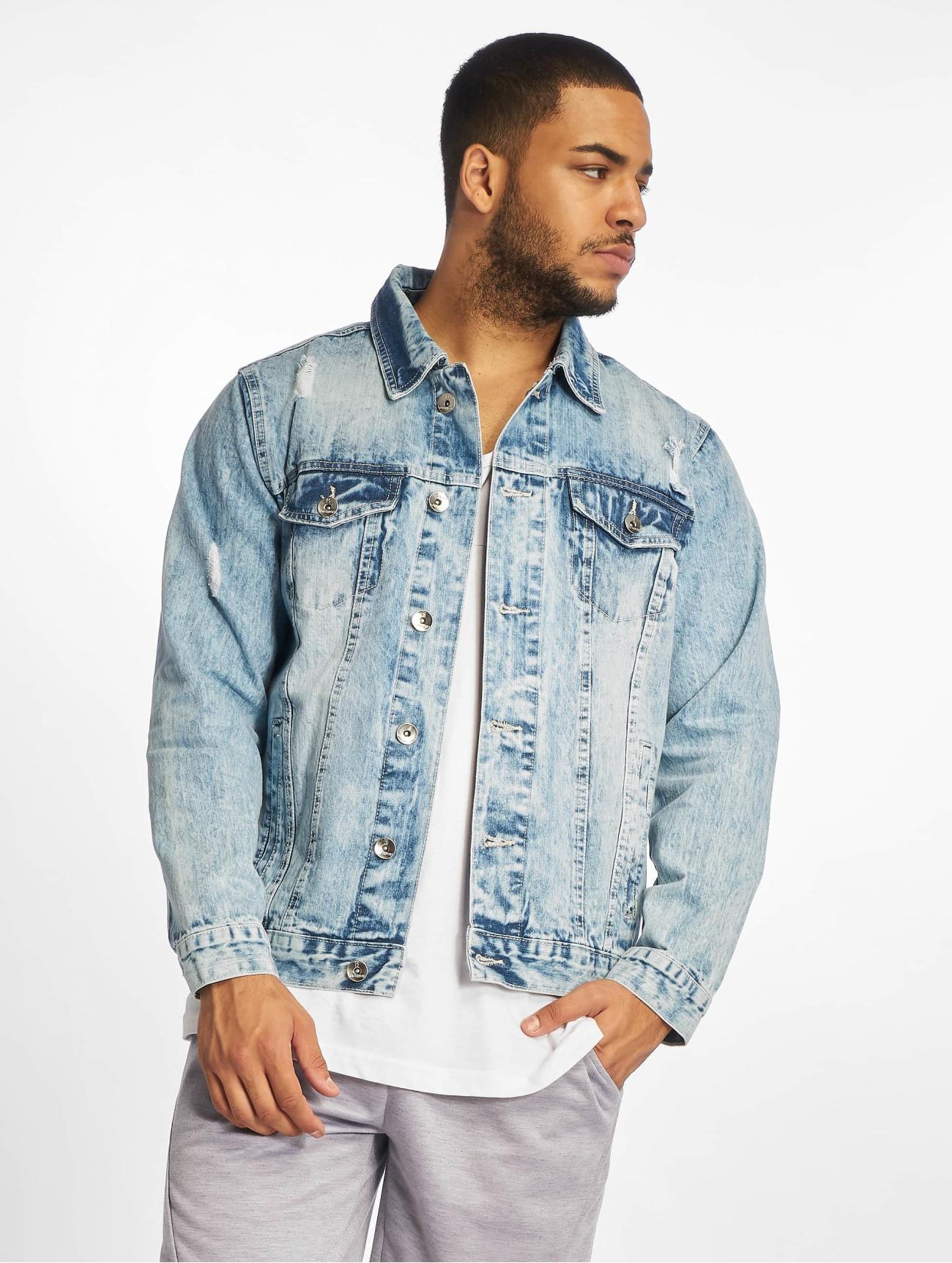 Southpole Jackor / Jeansjackor Basic  i blå 675698 Män Jackor