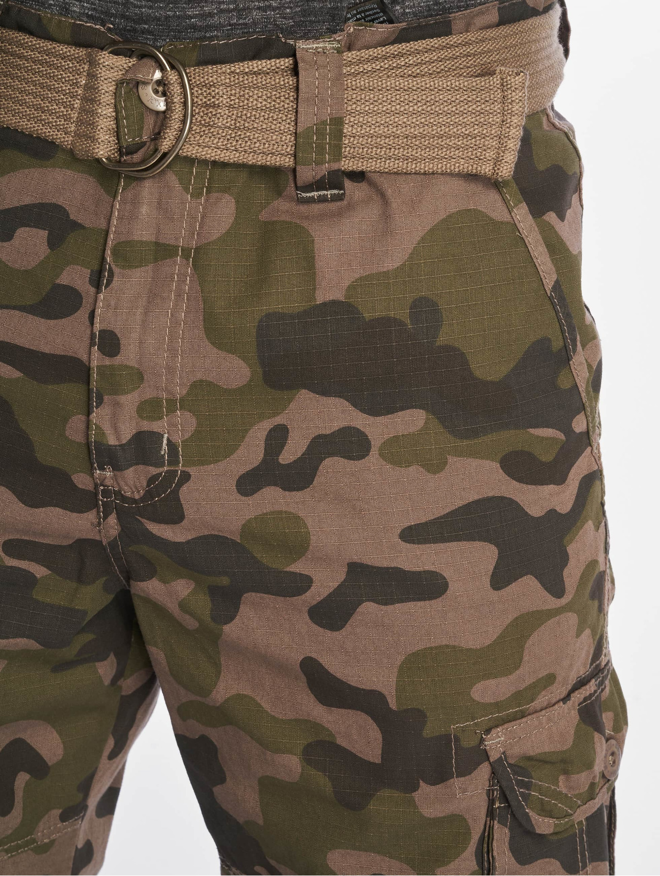 Southpole  Belted Cargo Ripstop  camouflage Homme Short  675621 Homme Pantalons & Shorts