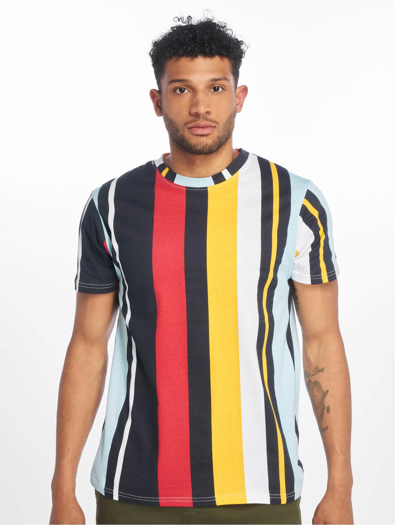 Southpole Överdel / T-shirt Vertical Block i blå 675285 Män Överdelar