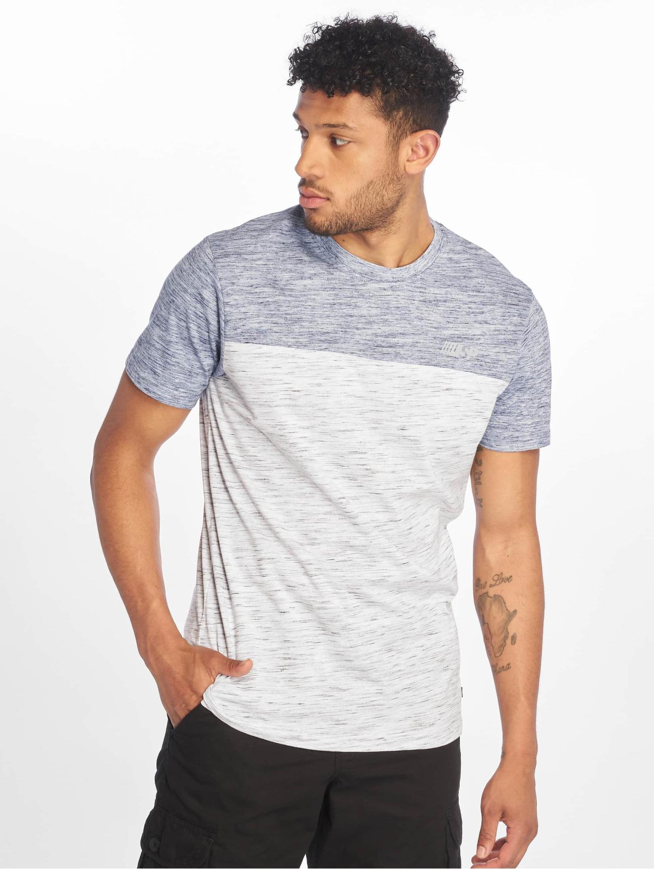 Southpole Överdel / T-shirt Color Block Tech i blå 675308 Män Överdelar