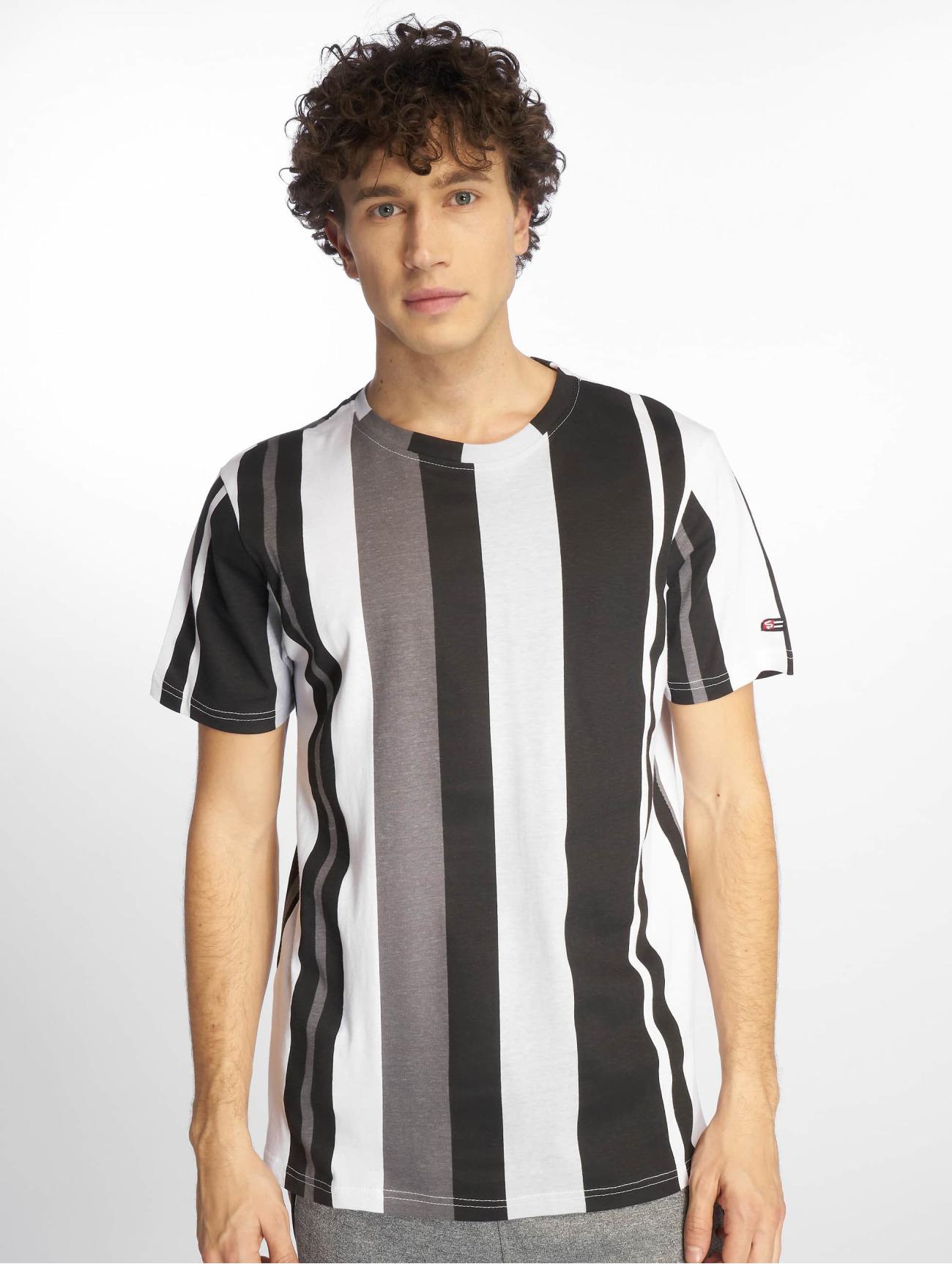 Southpole Överdel / T-shirt Vertical Stripe i svart 644439 Män Överdelar