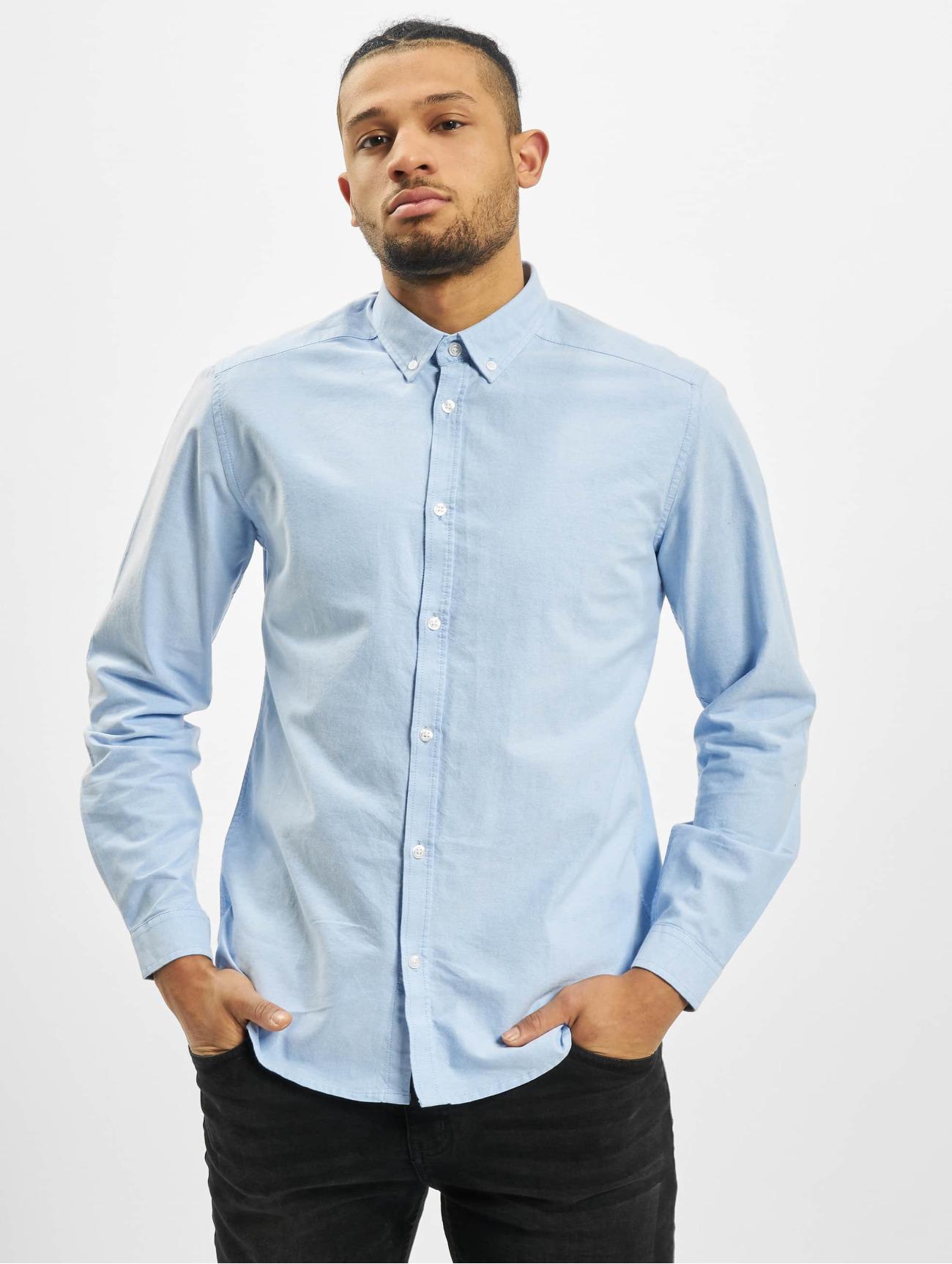 Suit Överdel / Skjorta Oxford i blå 571380 Män Överdelar